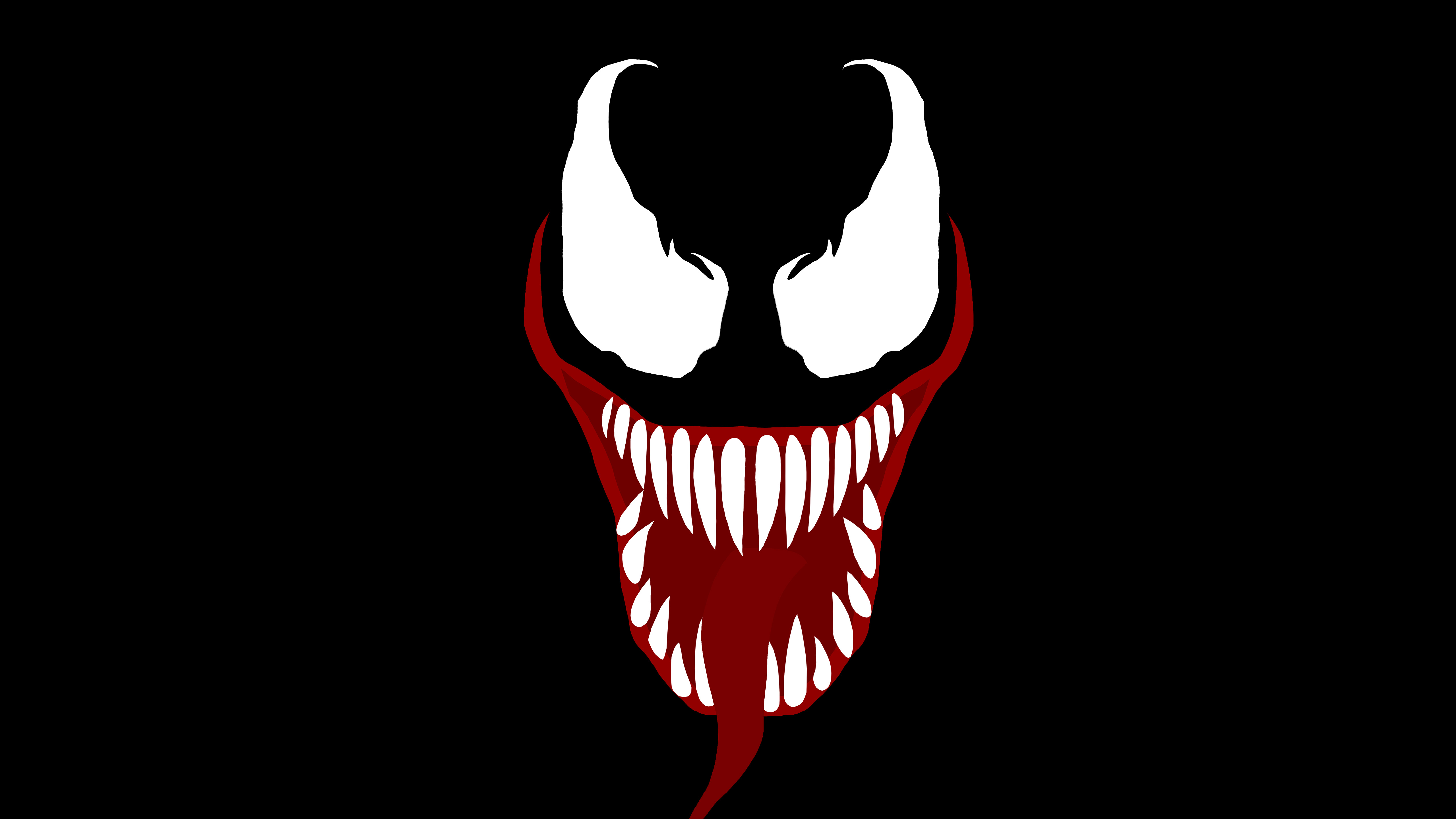 5120x2880 Venom Movie Face, HD Movies, 4k Wallpapers, Images, Backgrounds ...