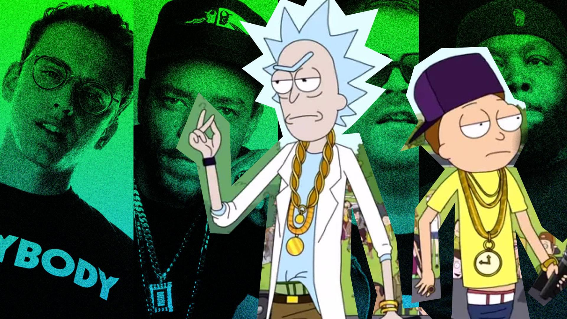 1920x1080 Hip-Hop's Love of Rick And Morty | Genius