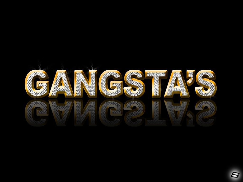 1024x768 Gangster Girl Black Background - Wallpapers Browse