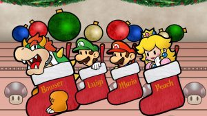 Mario Christmas Wallpapers – Top Free Mario Christmas Backgrounds