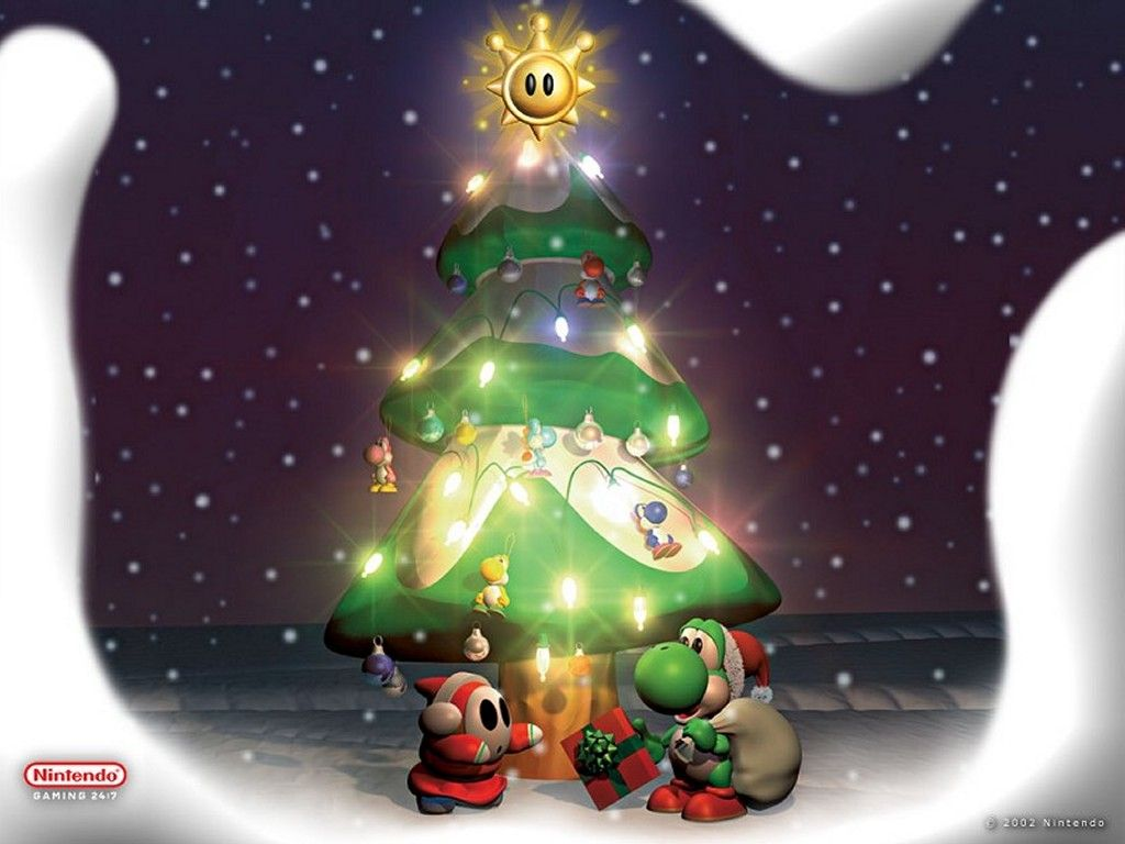 1024x768 Super Mario World images Christmas Yoshi HD wallpaper and background ...