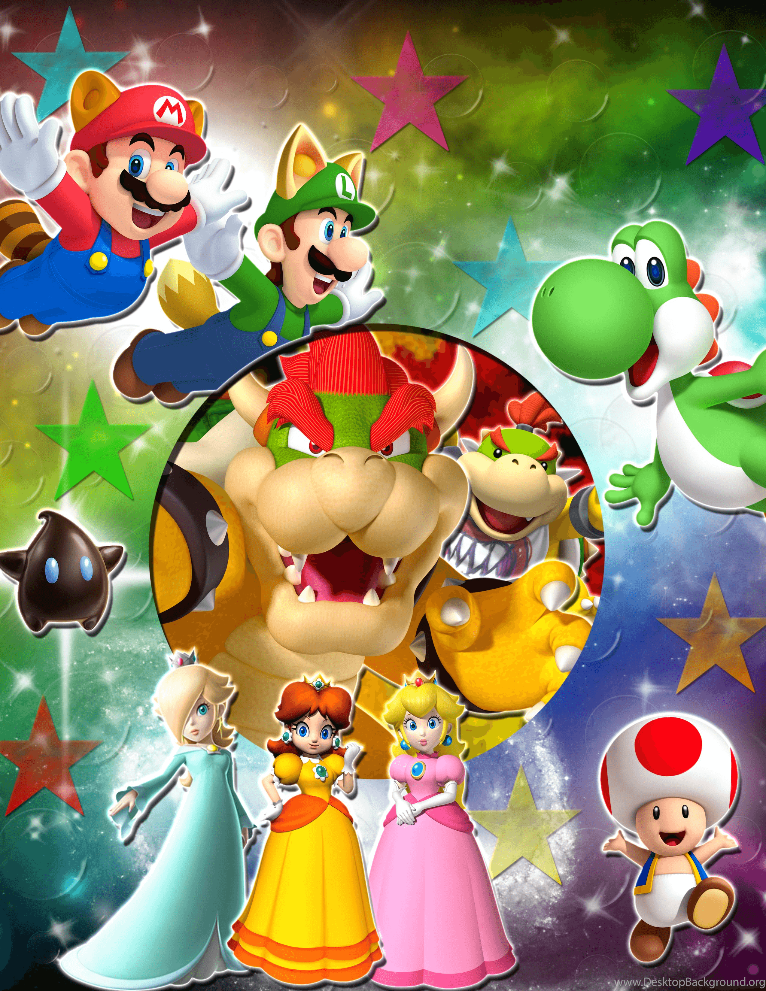 2550x3300 Mario Characters Wallpapers Wallpapers