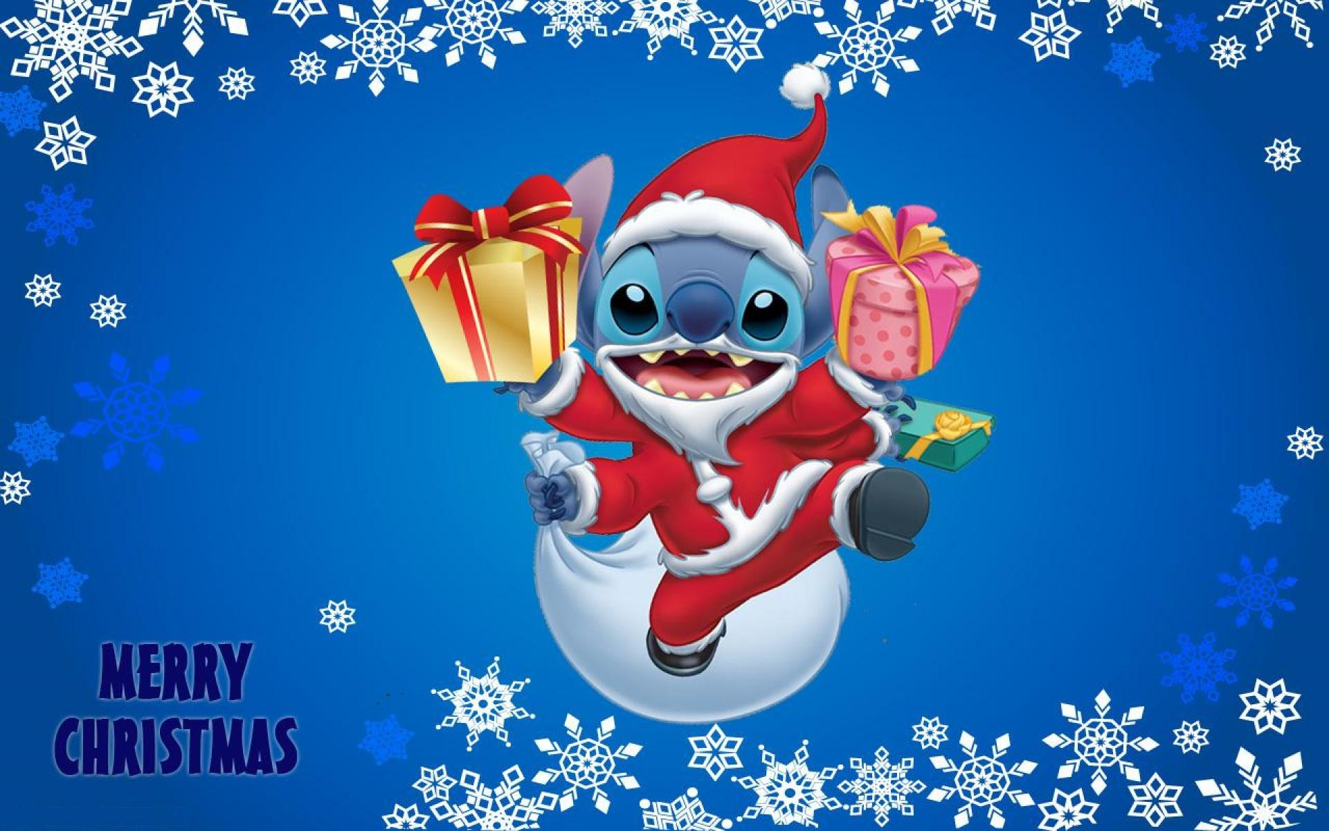 1920x1200 lilo and stitch christmas wallpapers hd hd background wallpapers ...