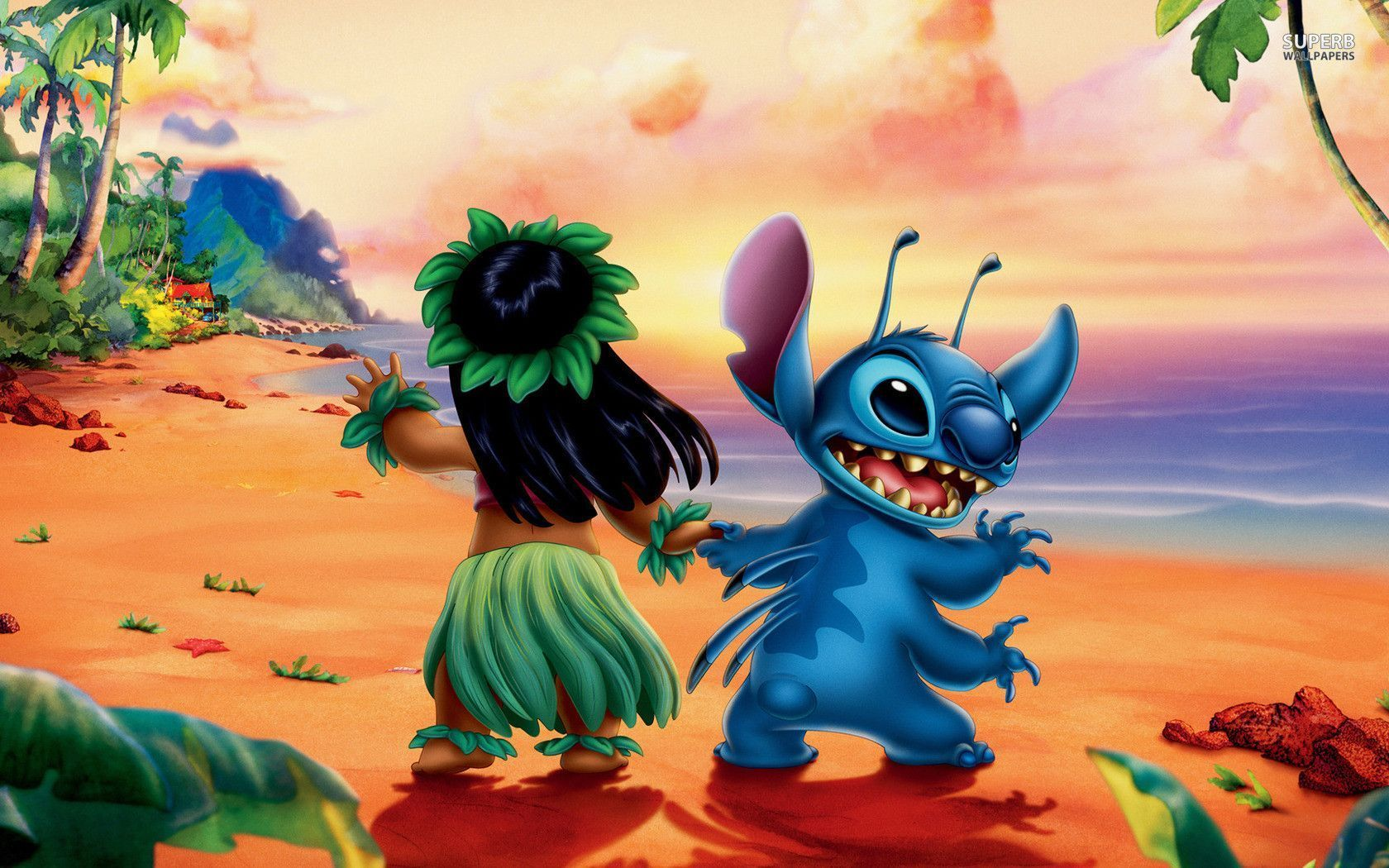1680x1050 Lilo & Stitch Wallpaper Cartoon Wallpapers # Awesome Lilo And Stitch ...