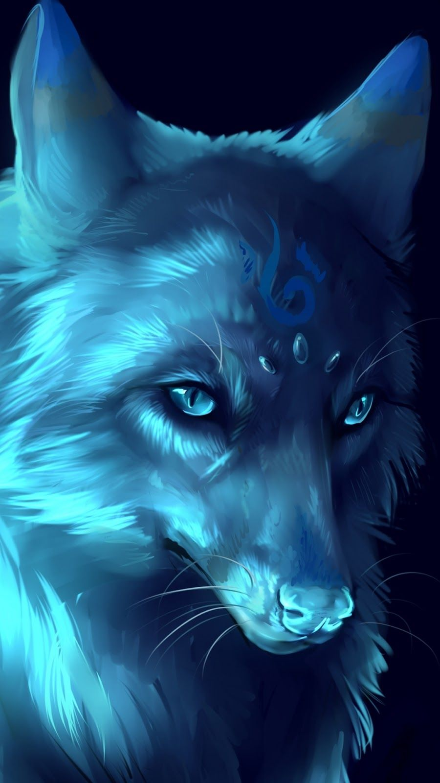 900x1600 Top 4 animated wolf iphone wallpaper - Sweety Wallpapers