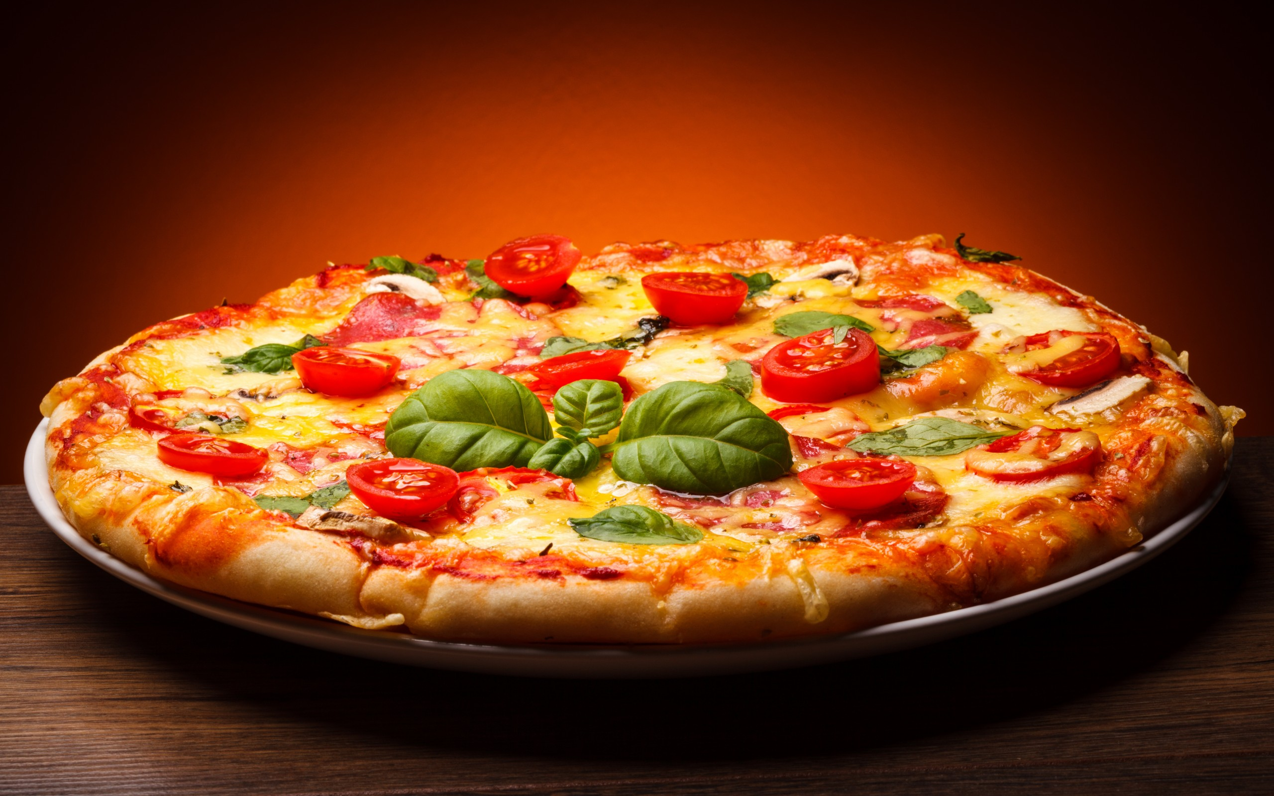 2560x1600 Pizza Wallpapers HD Backgrounds, Images, Pics, Photos Free Download ...