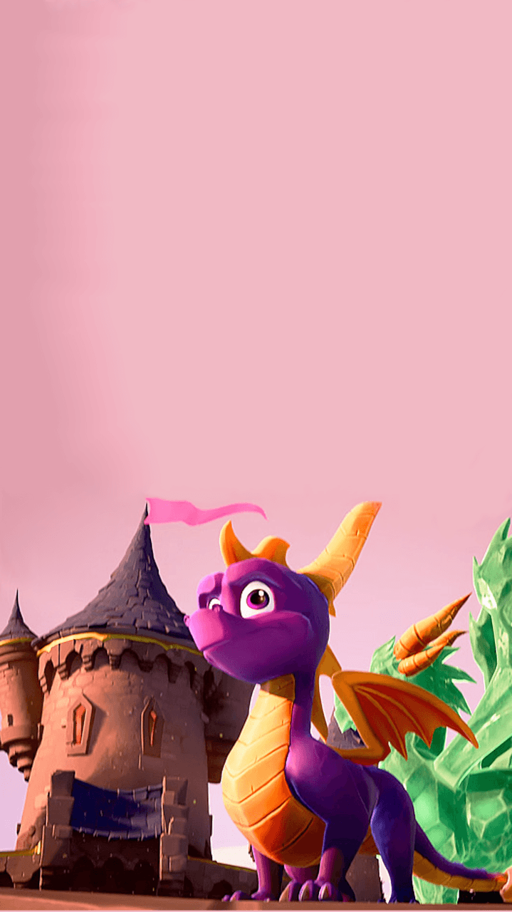 719x1280 Spyro Reignited Trilogy Wallpapers