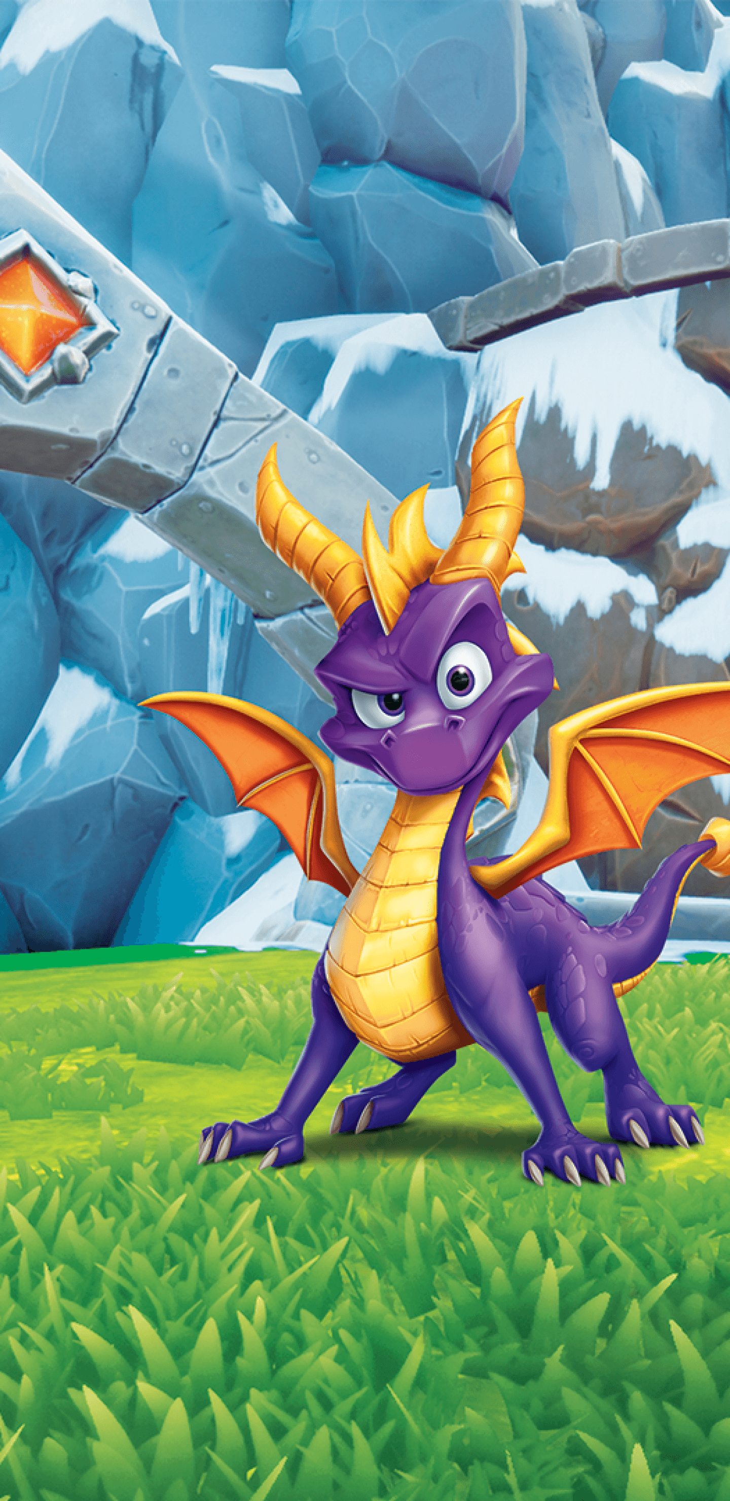 1440x2960 Download 1440x2960 Spyro, The Dragon, Snow, Games Wallpapers for ...