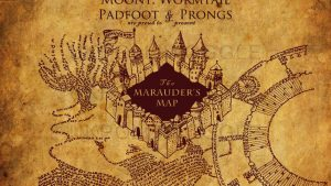Marauders Map Wallpapers – Top Free Marauders Map Backgrounds