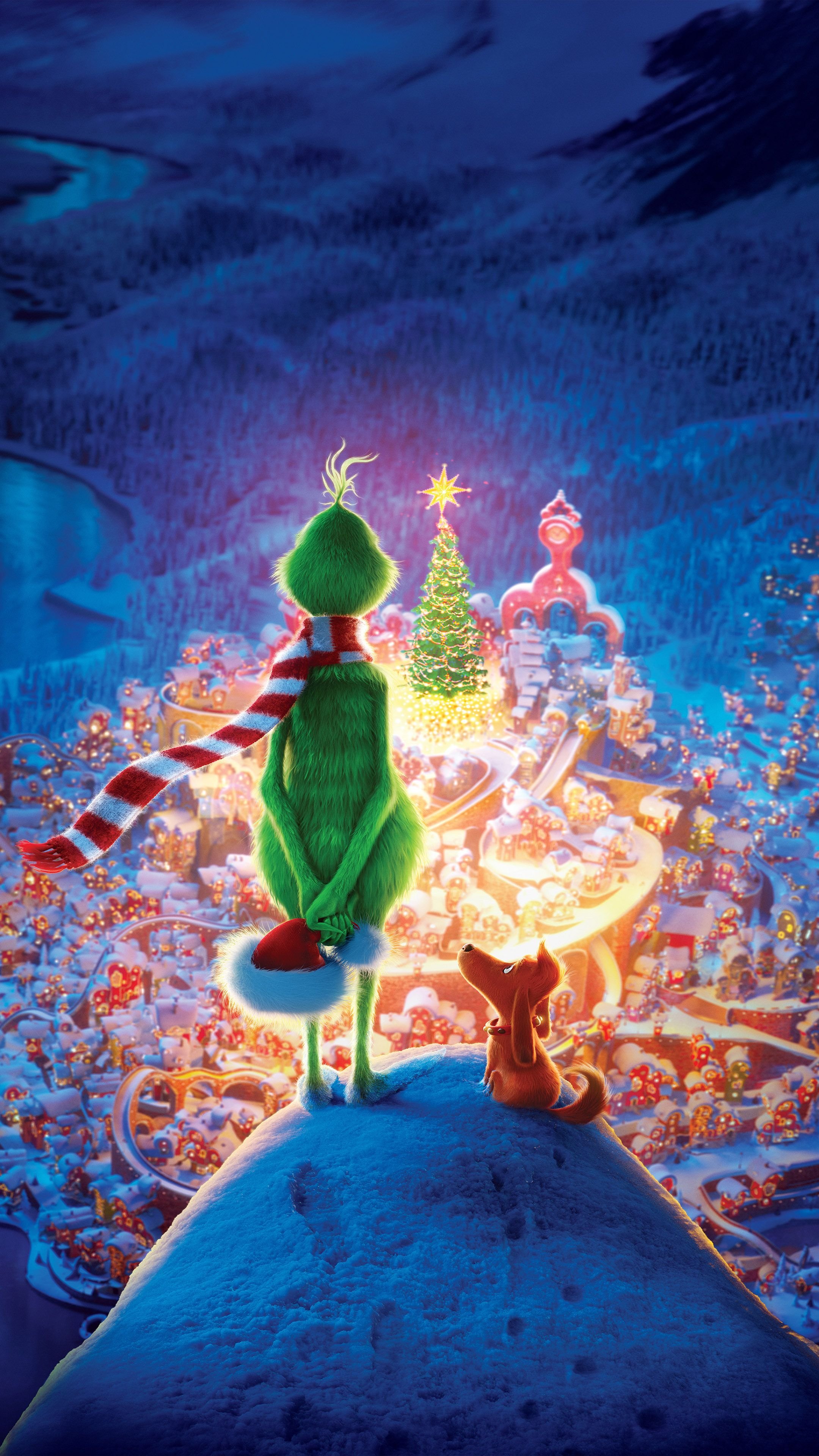 2160x3840 Download The Grinch Animation 2018 Free Pure 4K Ultra HD Mobile ...
