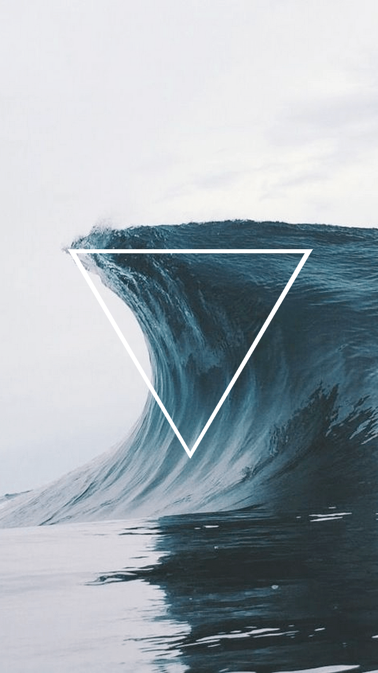 750x1334 2/26/2018 5:41pm wave triangle 4 elements | Tumblr | Hipster ...