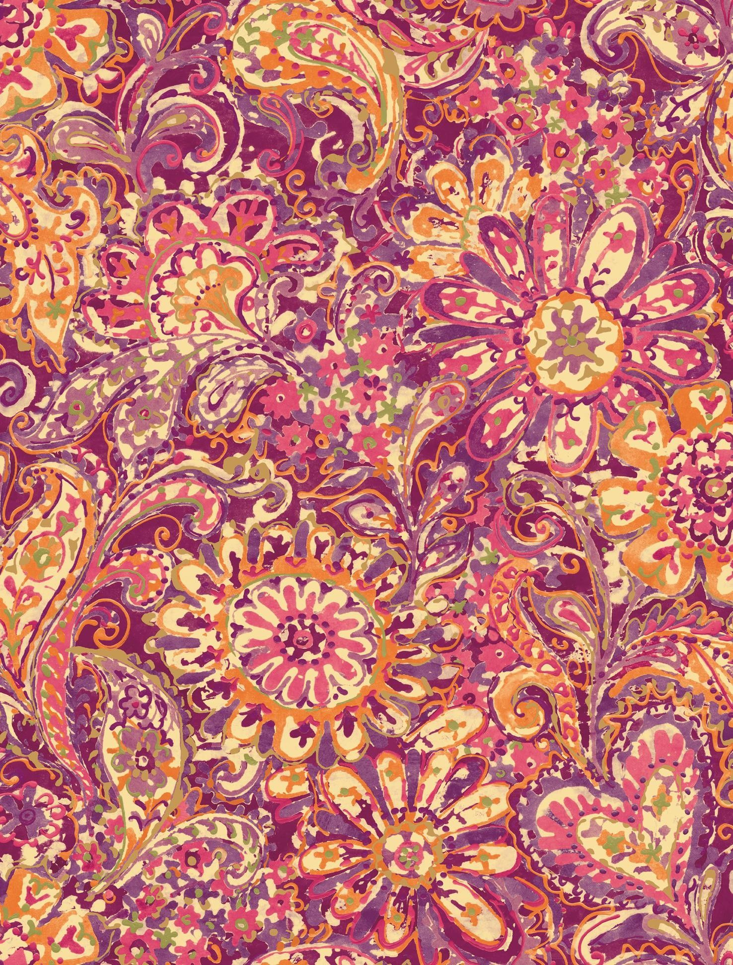 1476x1944 Pink Paisley Wallpaper (35+ images)