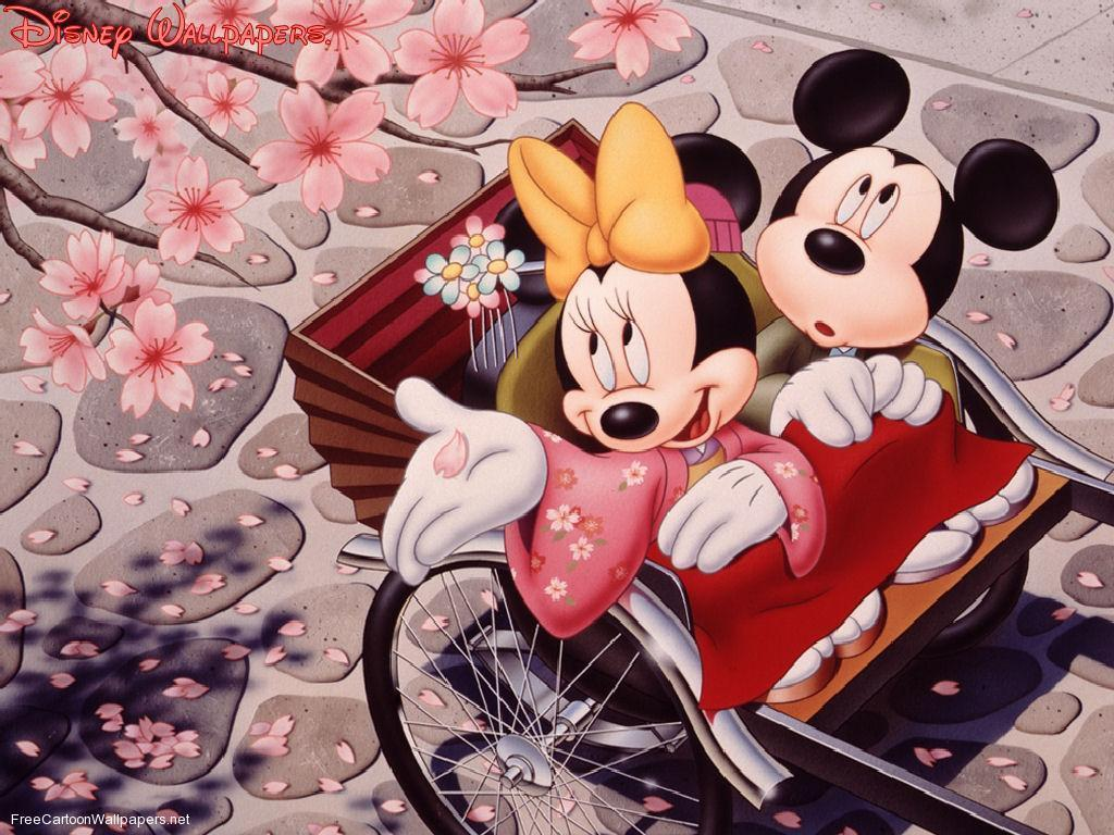 1024x768 Minnie Mouse Wallpapers