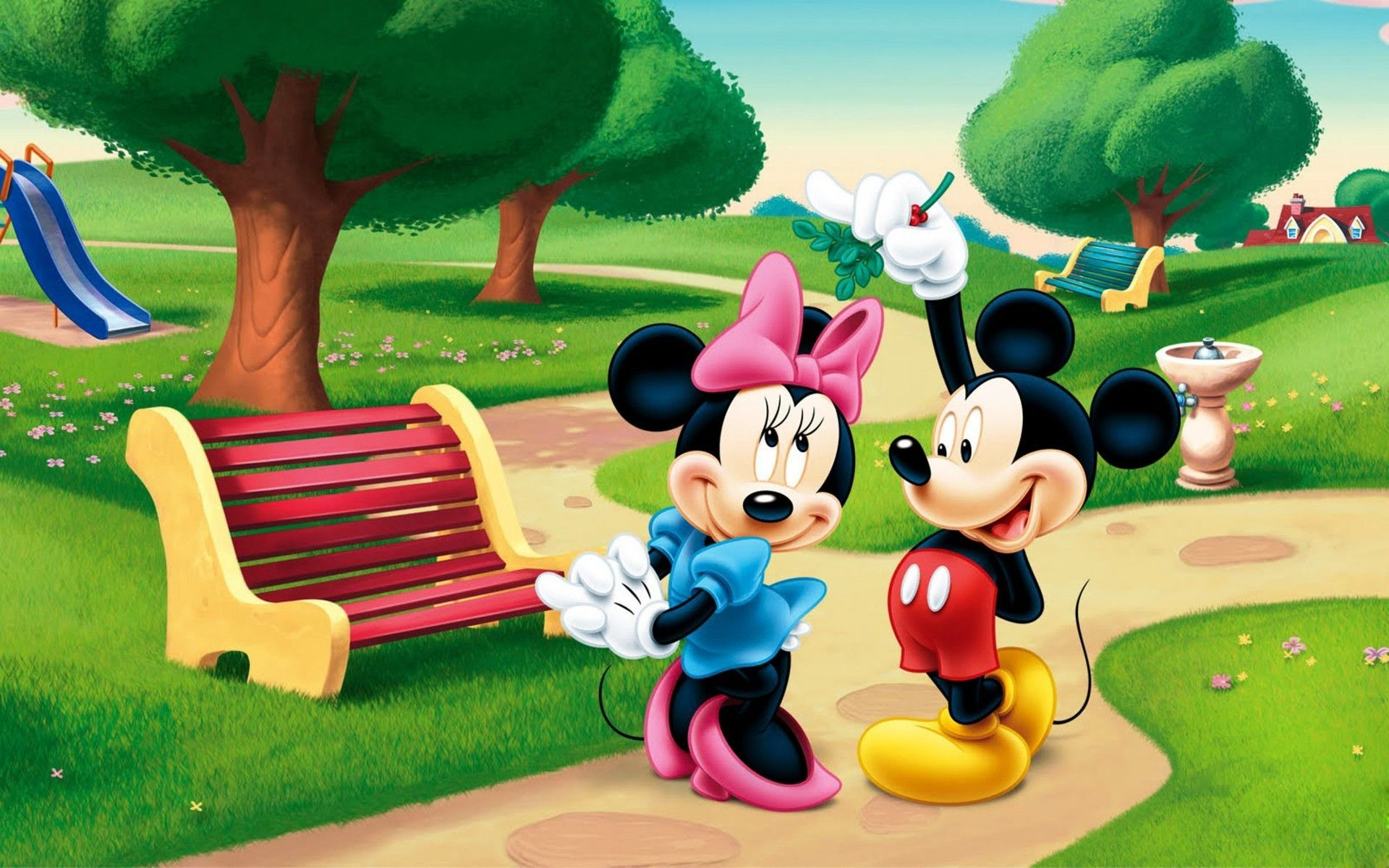 1920x1200 Mickey And Minnie Mouse Wallpapers 1920x1200 (318.53 KB)