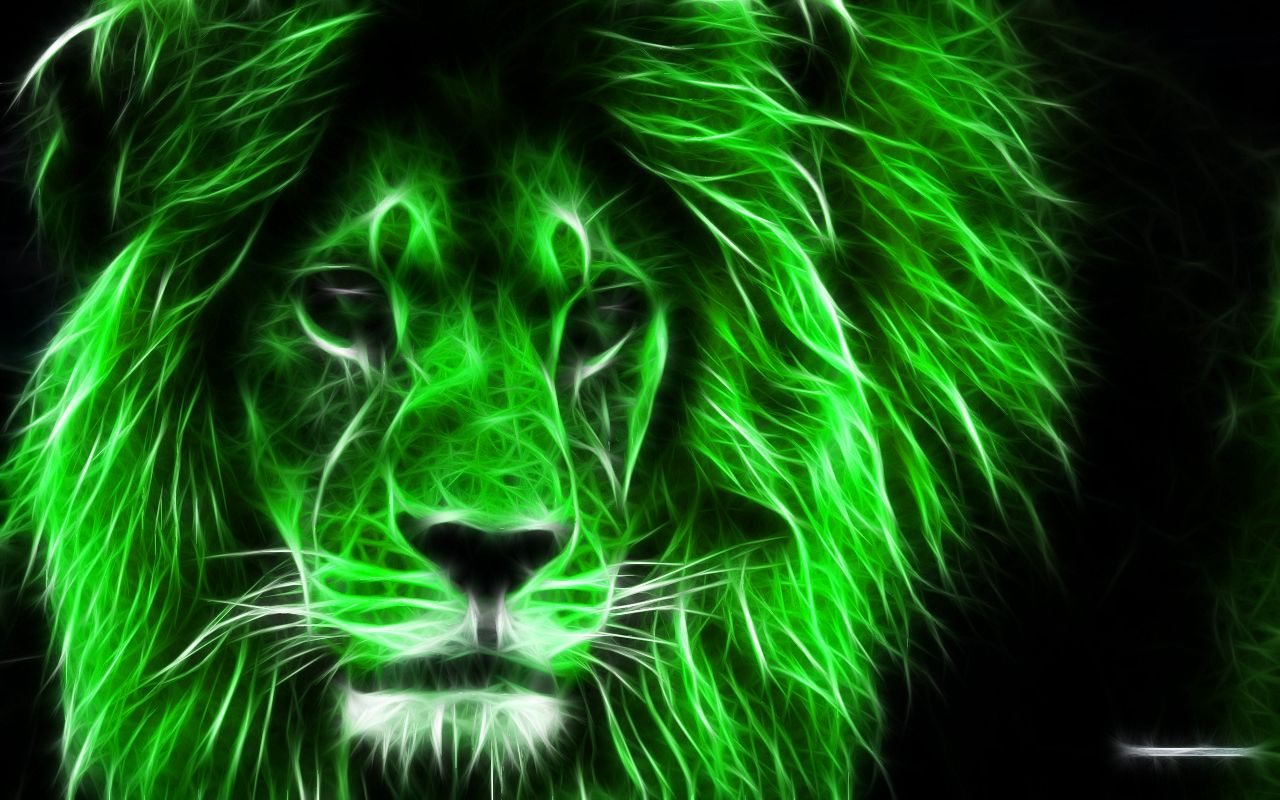 1280x800 Download the Green Lion Wallpaper, Green Lion iPhone ...