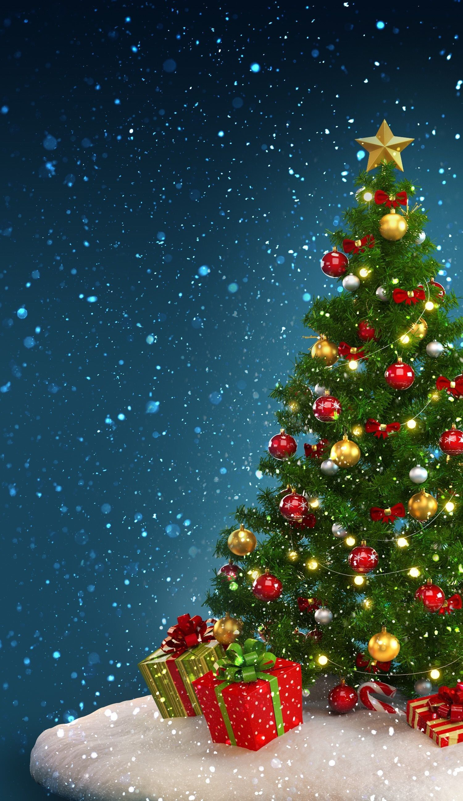 1500x2592 71+ Christmas Peace Wallpapers on WallpaperPlay