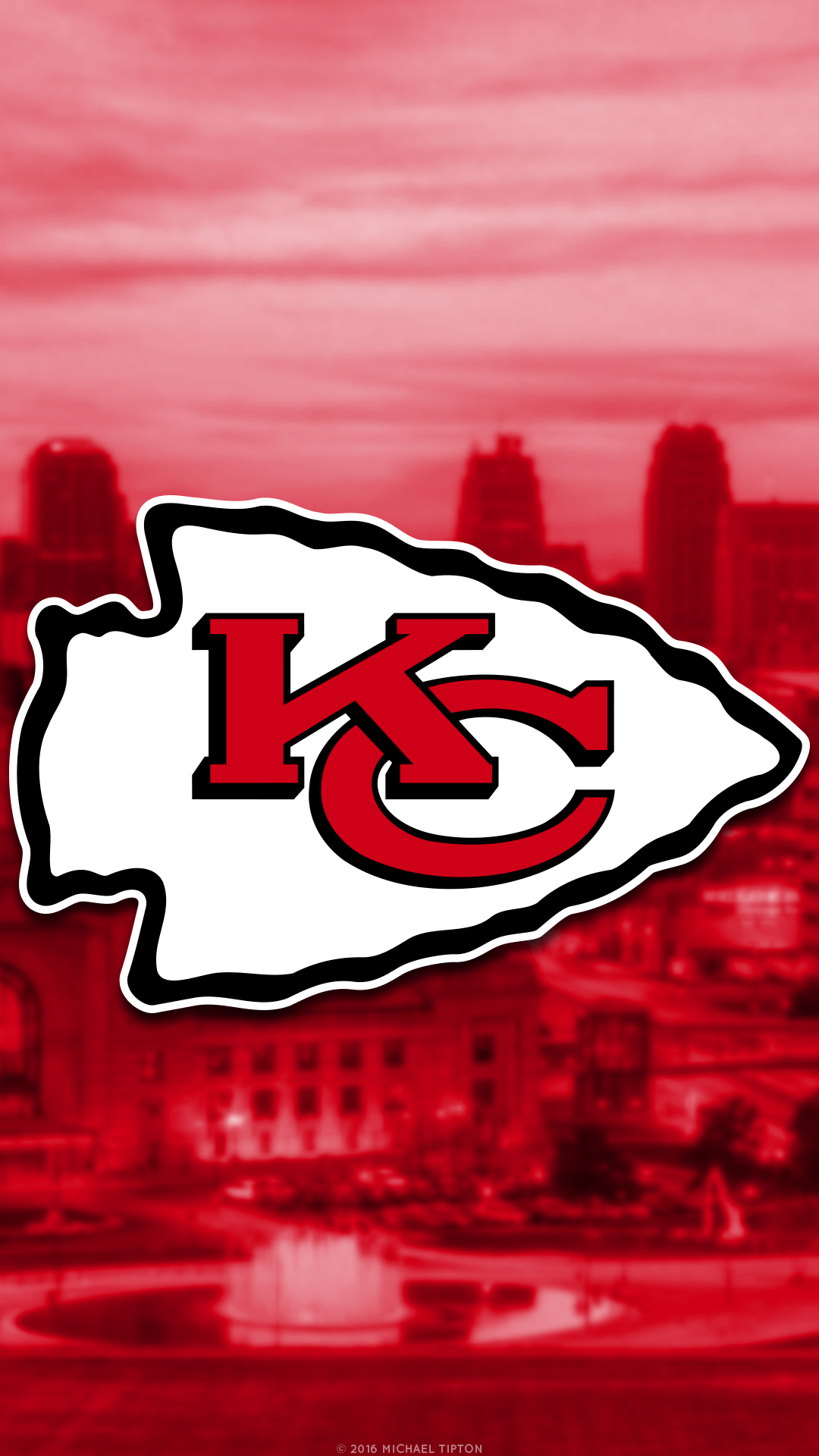 1080x1920 NFL - Kansas City Chiefs - 2 iPhone 6 Wallpaper | Kansas city ...