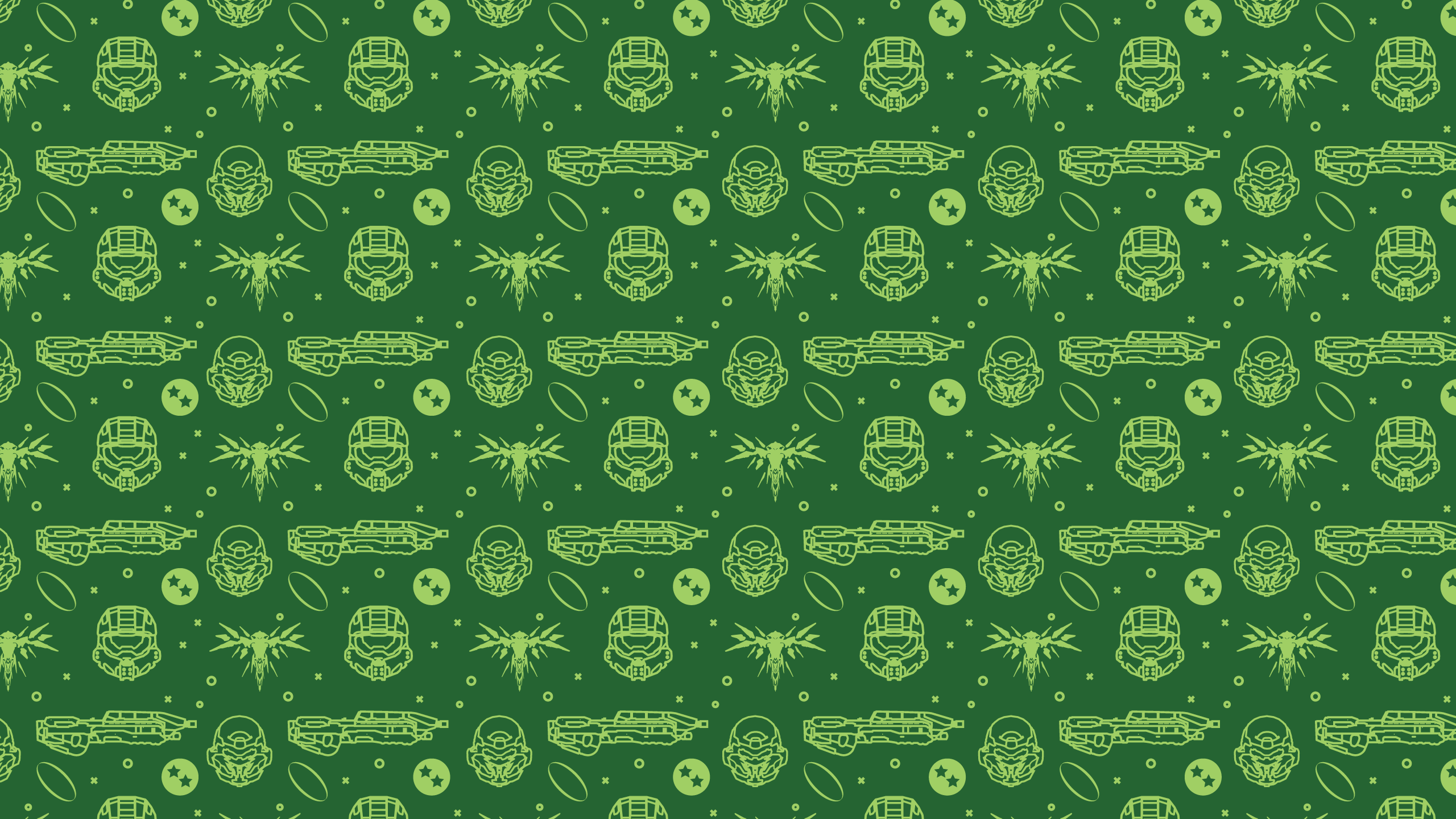 2560x1440 Xbox Christmas wrapping paper on Behance
