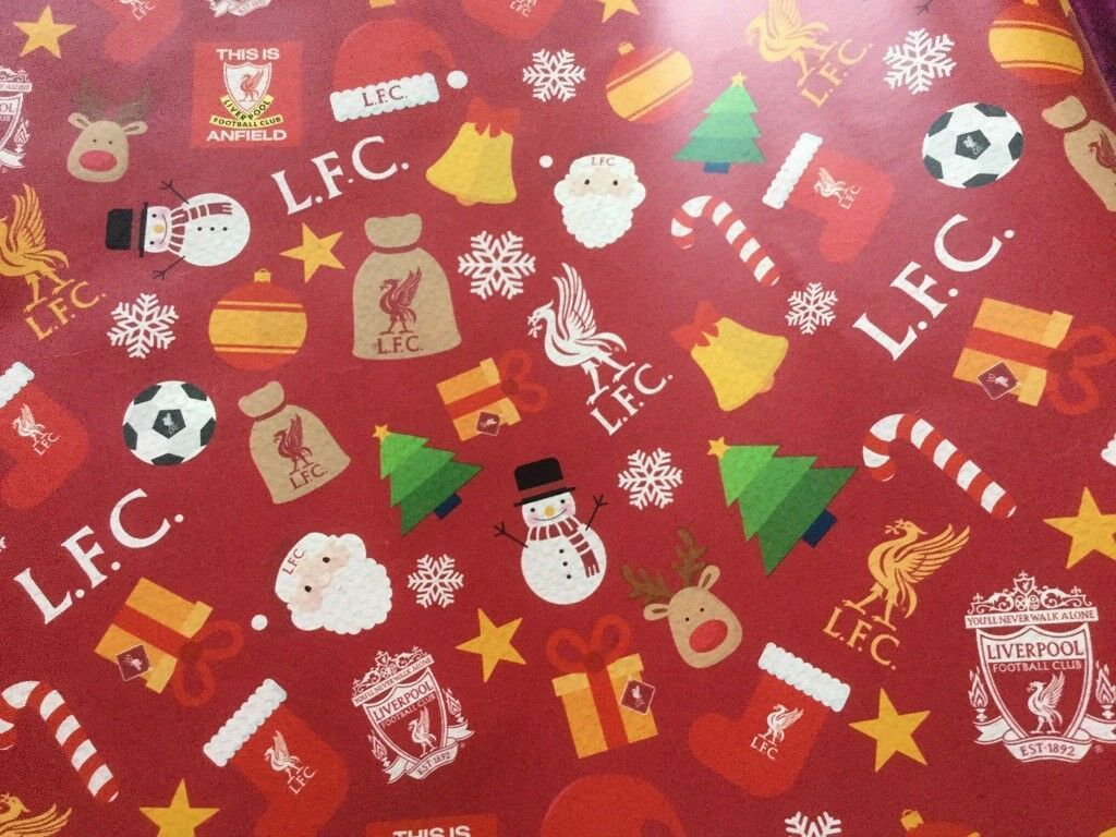 1024x768 Liverpool FC Christmas Wrapping Paper | in Neston, Cheshire | Gumtree