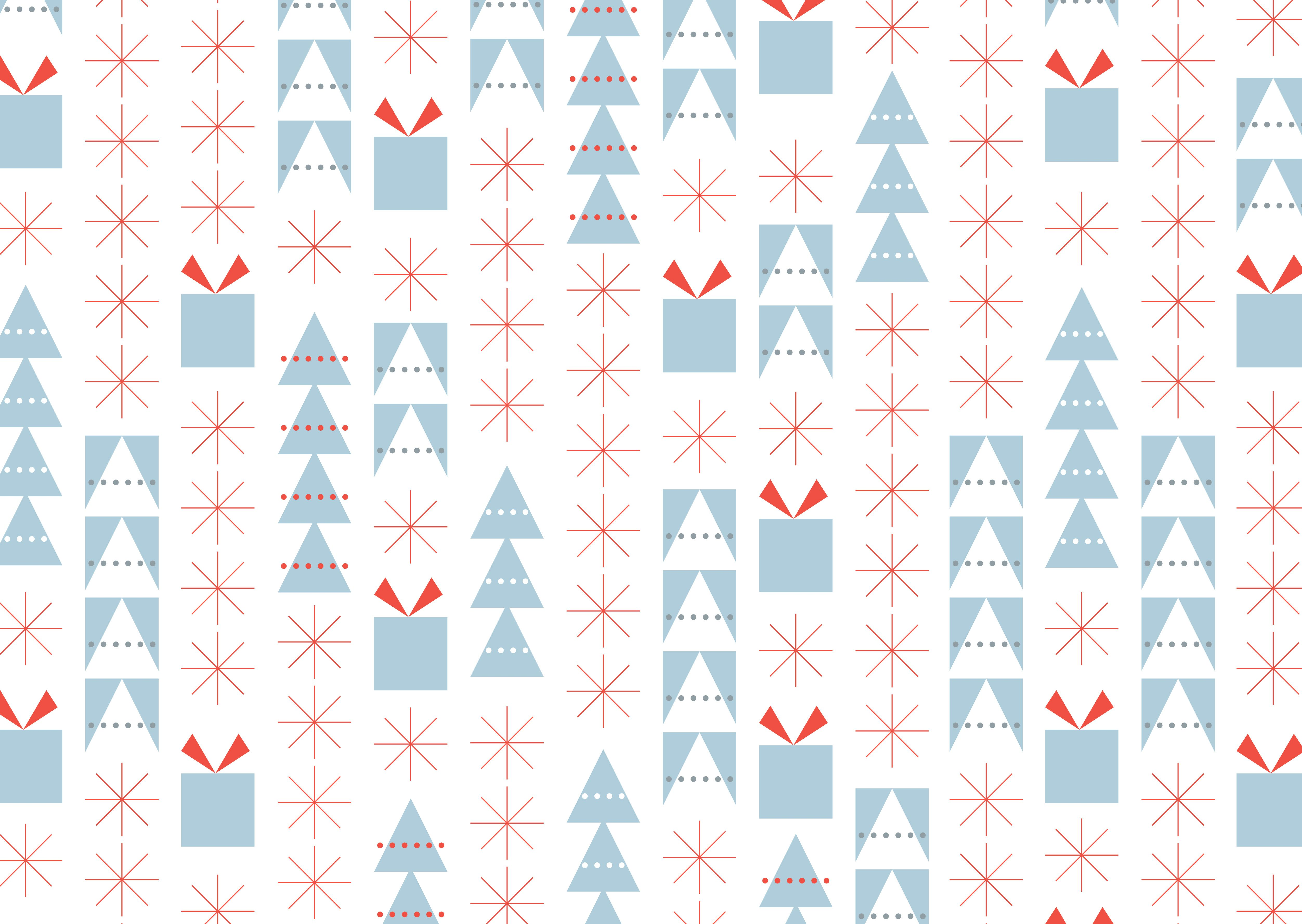 5008x3555 Free download Holiday Season wrapping paper (intro)