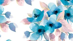 Pastel Blue Flowers Wallpapers – Top Free Pastel Blue Flowers Backgrounds