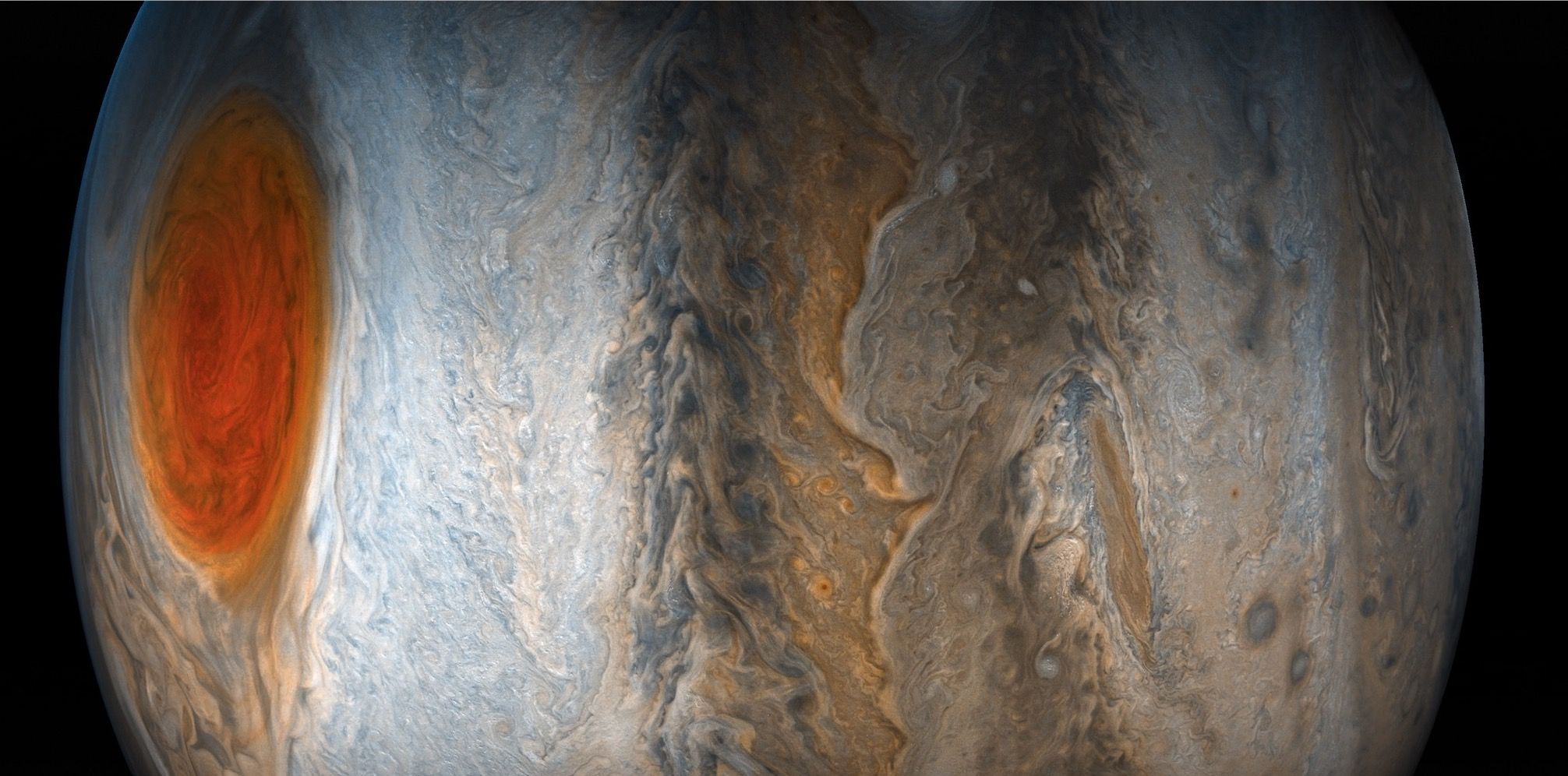 2012x996 Check Out this Amazing Jupiter Wallpaper Picture from JunoCam