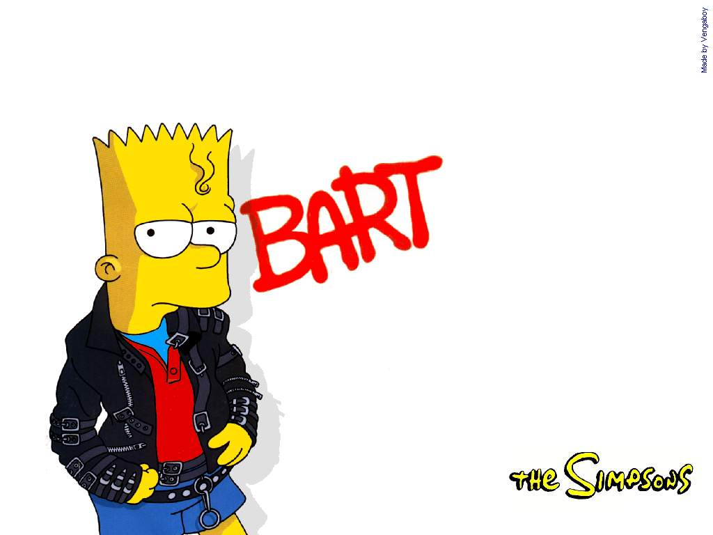 1024x768 Bart Simpson Wallpapers
