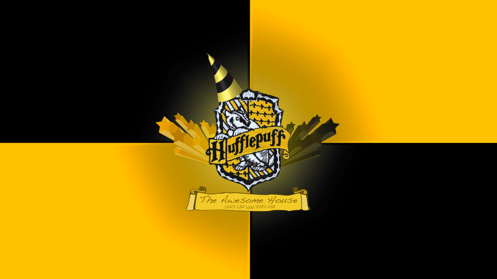 1600x900 An awesome wallpaper for all the new Hufflepuffs in r/harrypotter ...