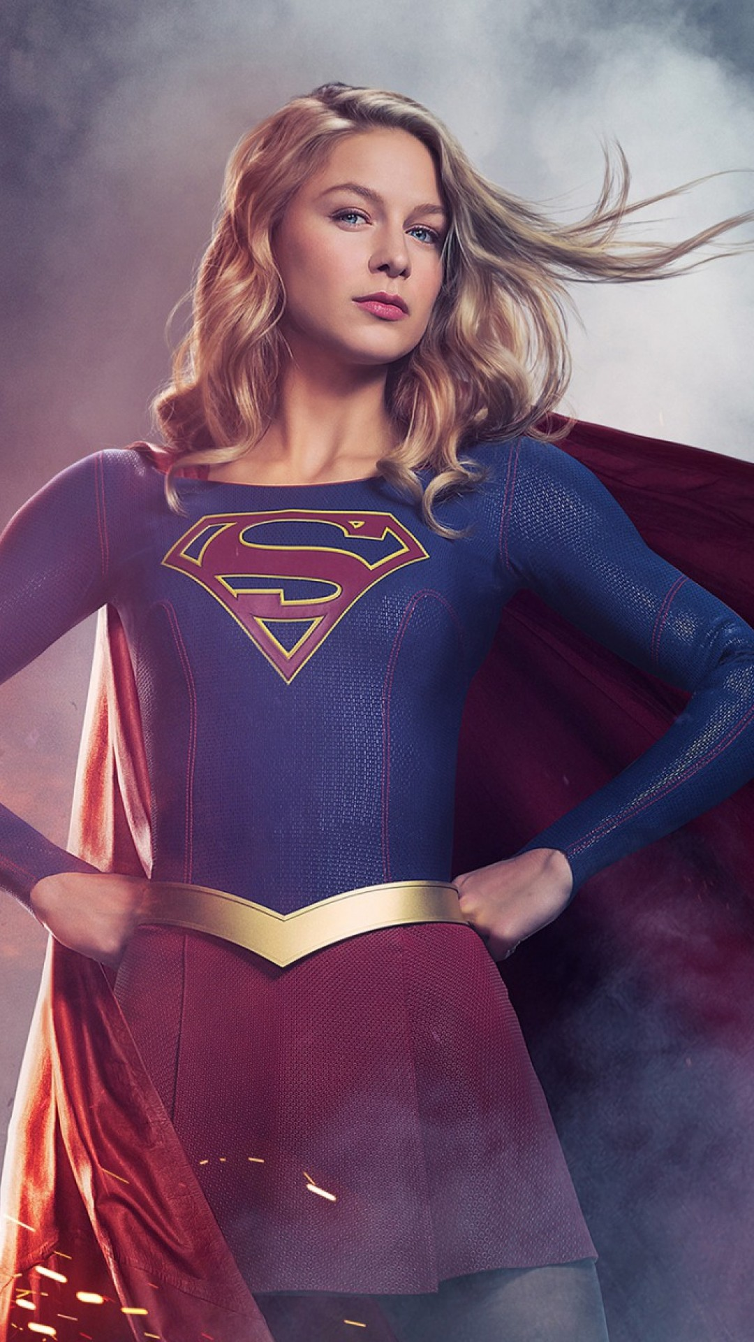 1080x1920 Download 1080x1920 Supergirl Season 3, Tv Series Wallpapers for ...