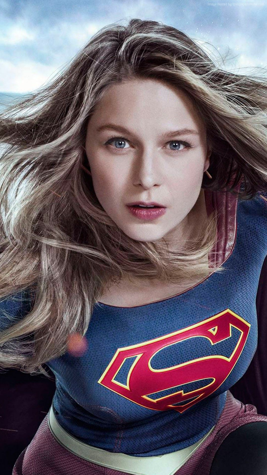 1080x1920 Supergirl Melissa Benoist 2017 - Free HD iPhone Wallpapers | Supers ...