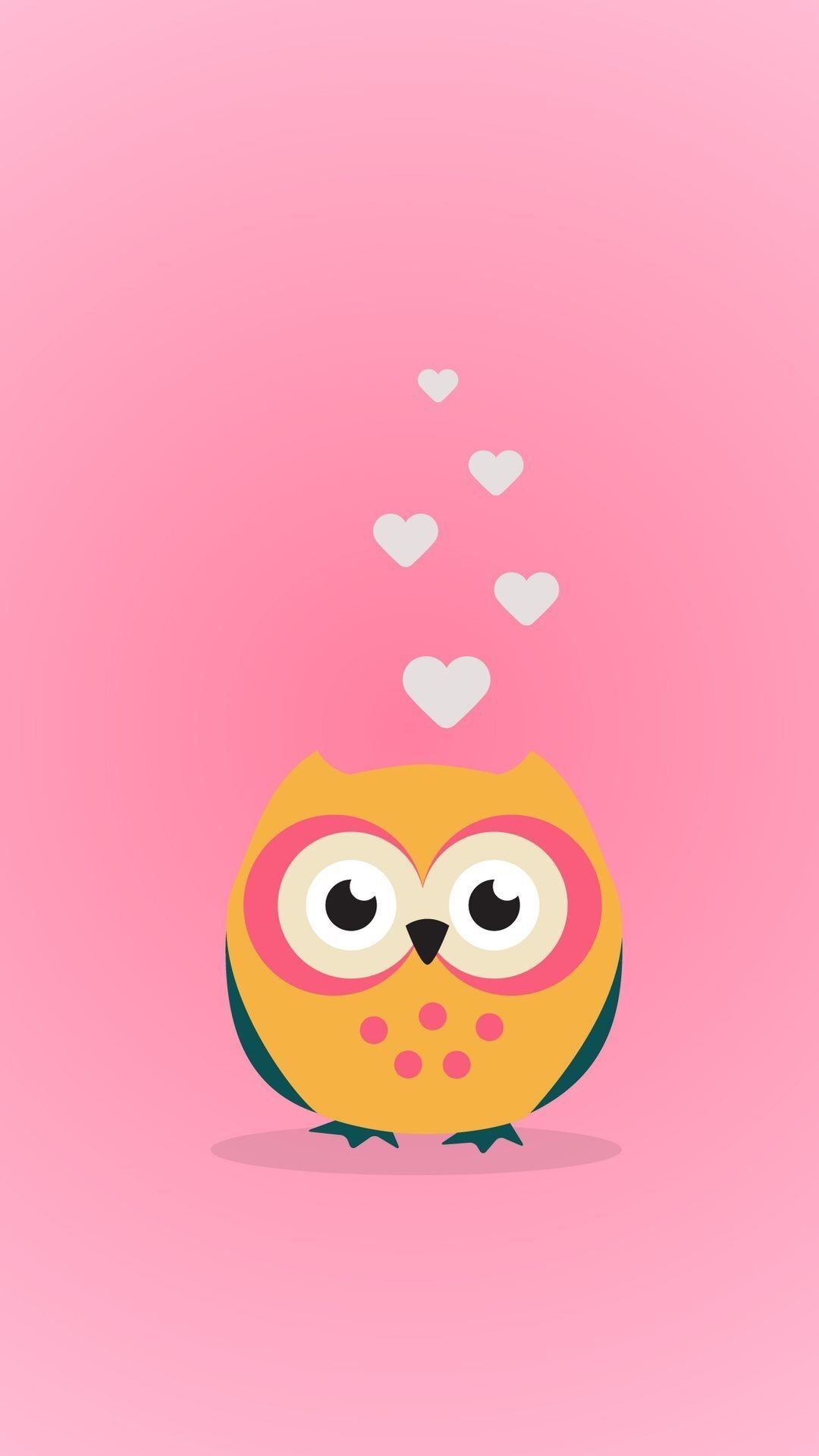 1080x1920 71+ Cute Owl Wallpapers on WallpaperPlay
