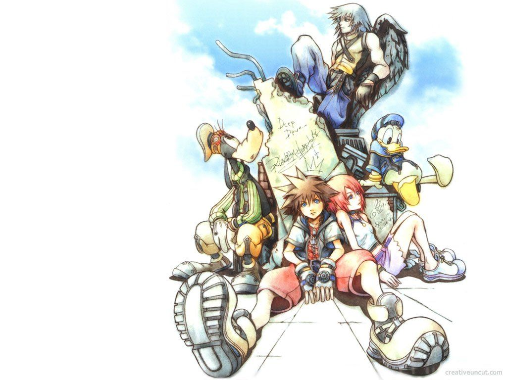 1024x768 Kingdom Hearts Wallpaper and Background Image | 1024x768 | ID:35295 ...