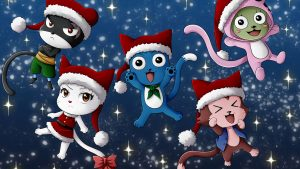 Fairy Tail Christmas Wallpapers – Top Free Fairy Tail Christmas Backgrounds