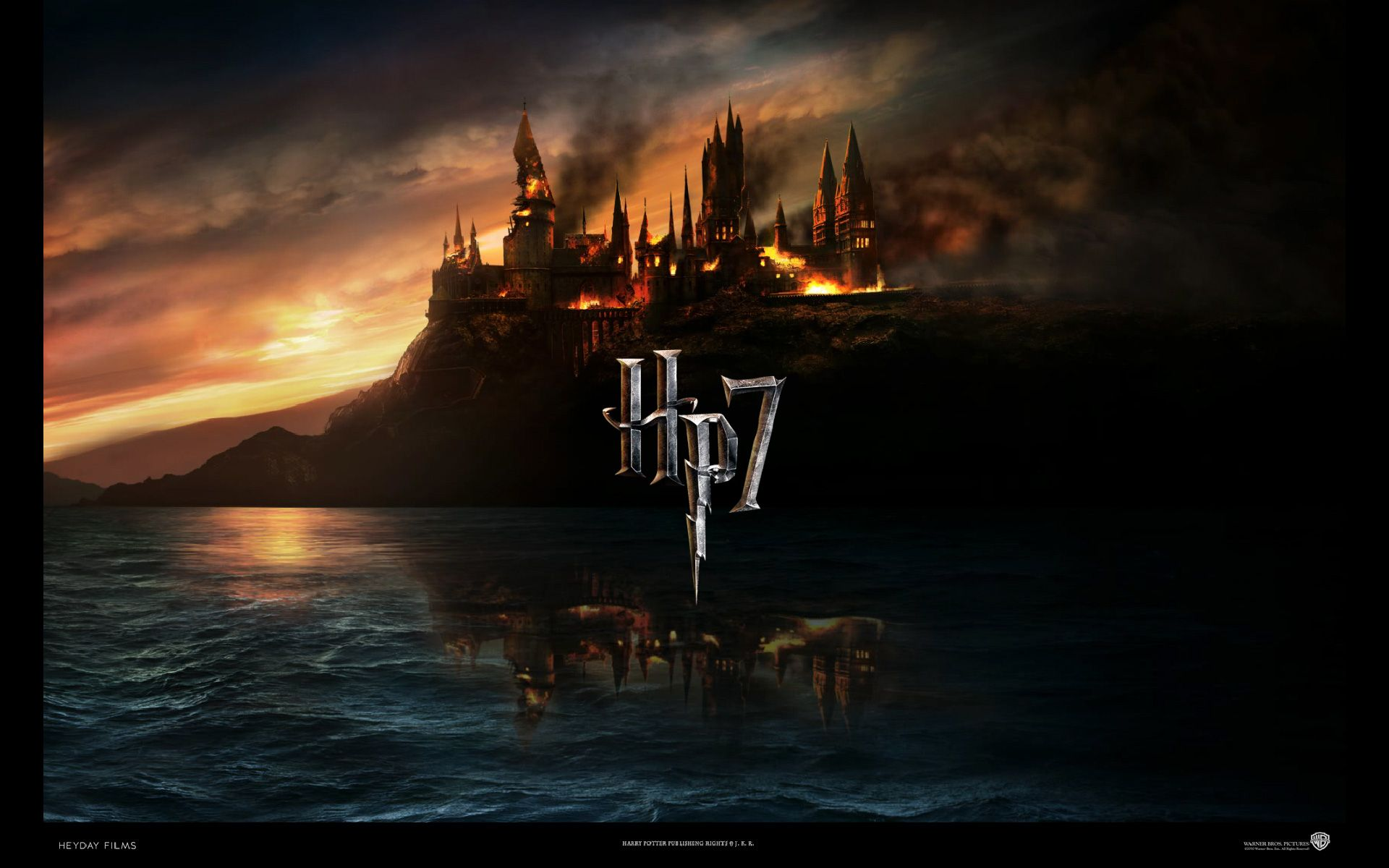 1920x1200 Hogwarts School for Witchcraft Desktop Wallpaper