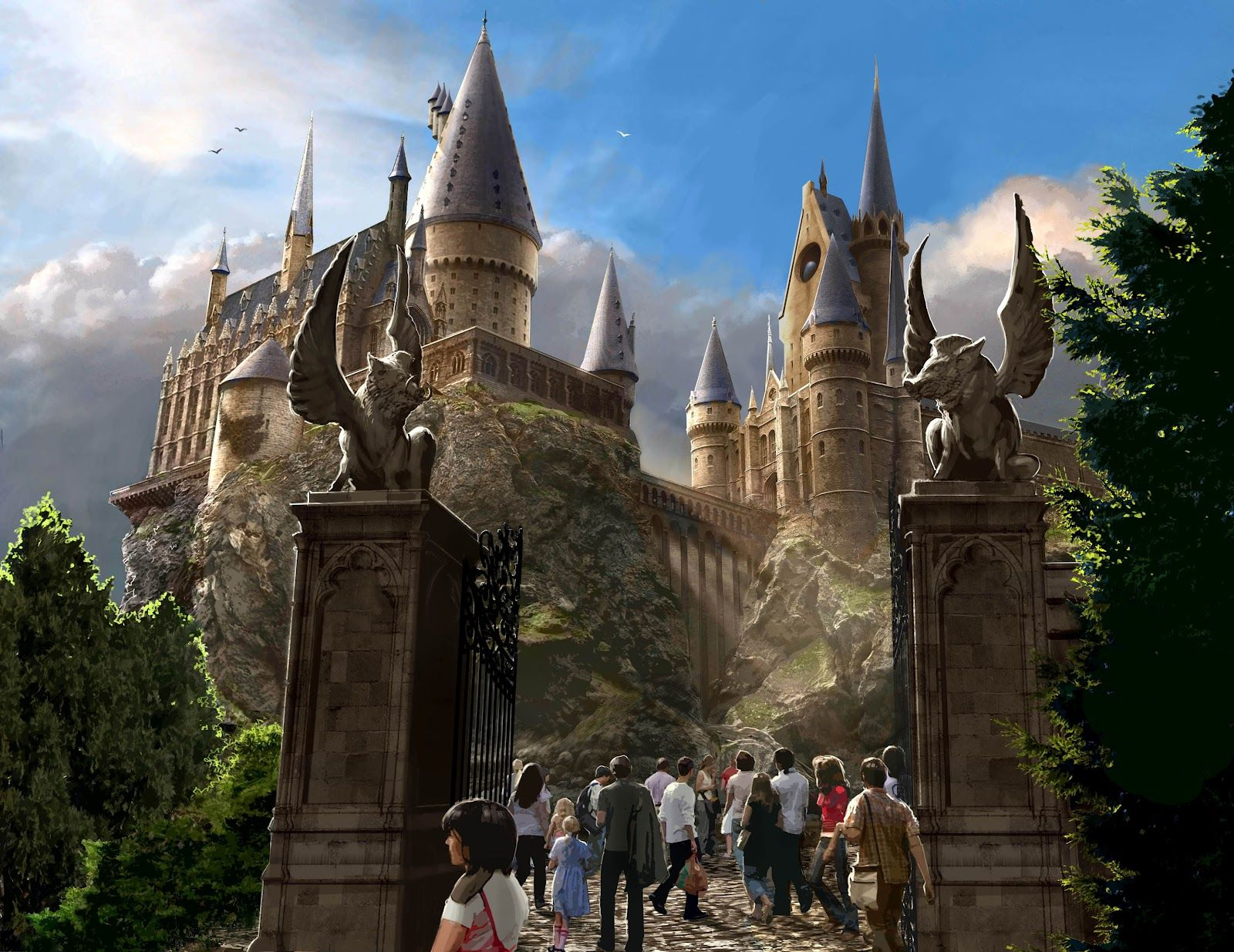 1600x1235 Hi.Def.Walls: Harry Potter - Hogwarts School of Witchcraft and Wizardry