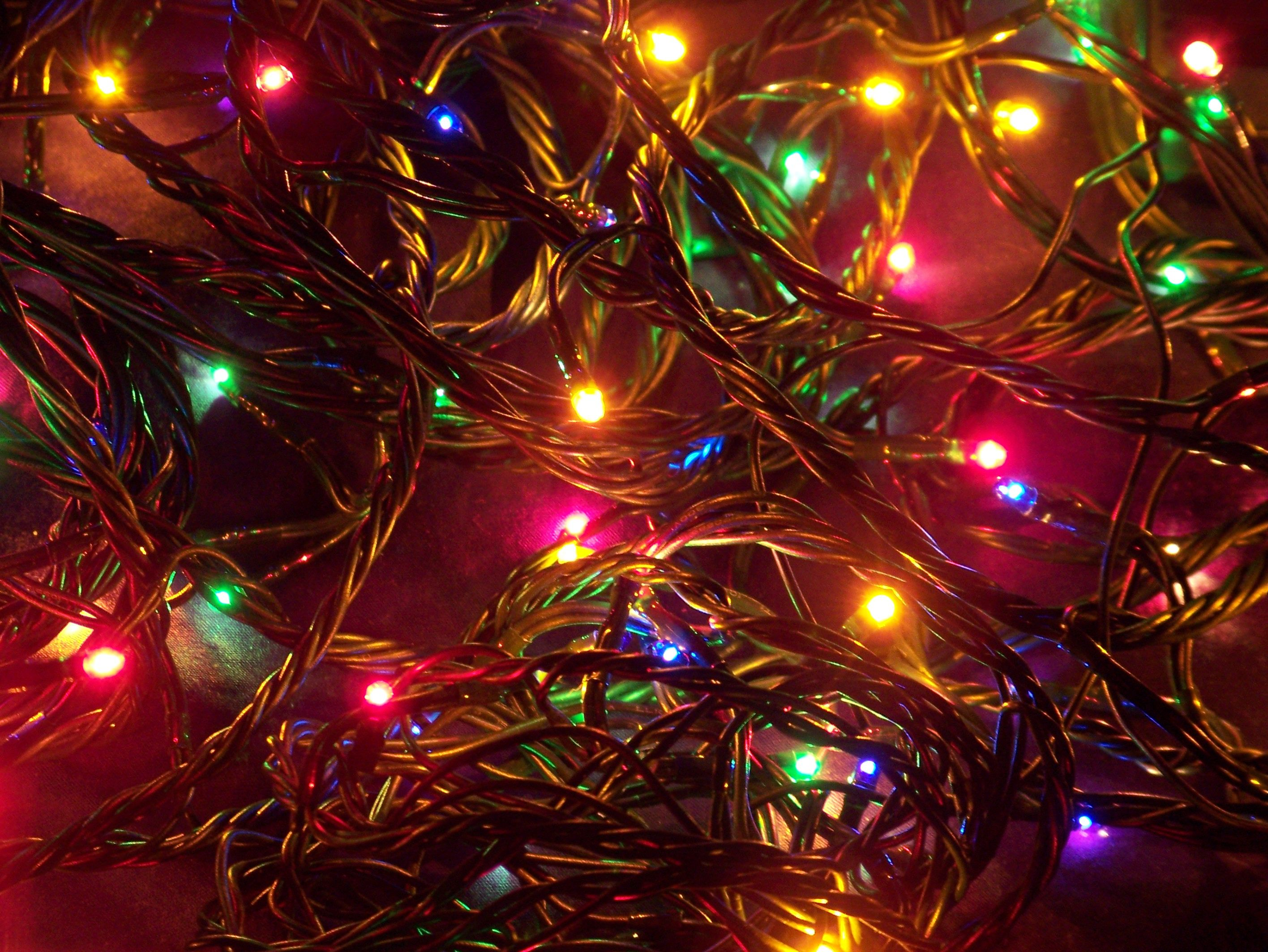 2832x2128 Christmas Lights | Desktop Backgrounds