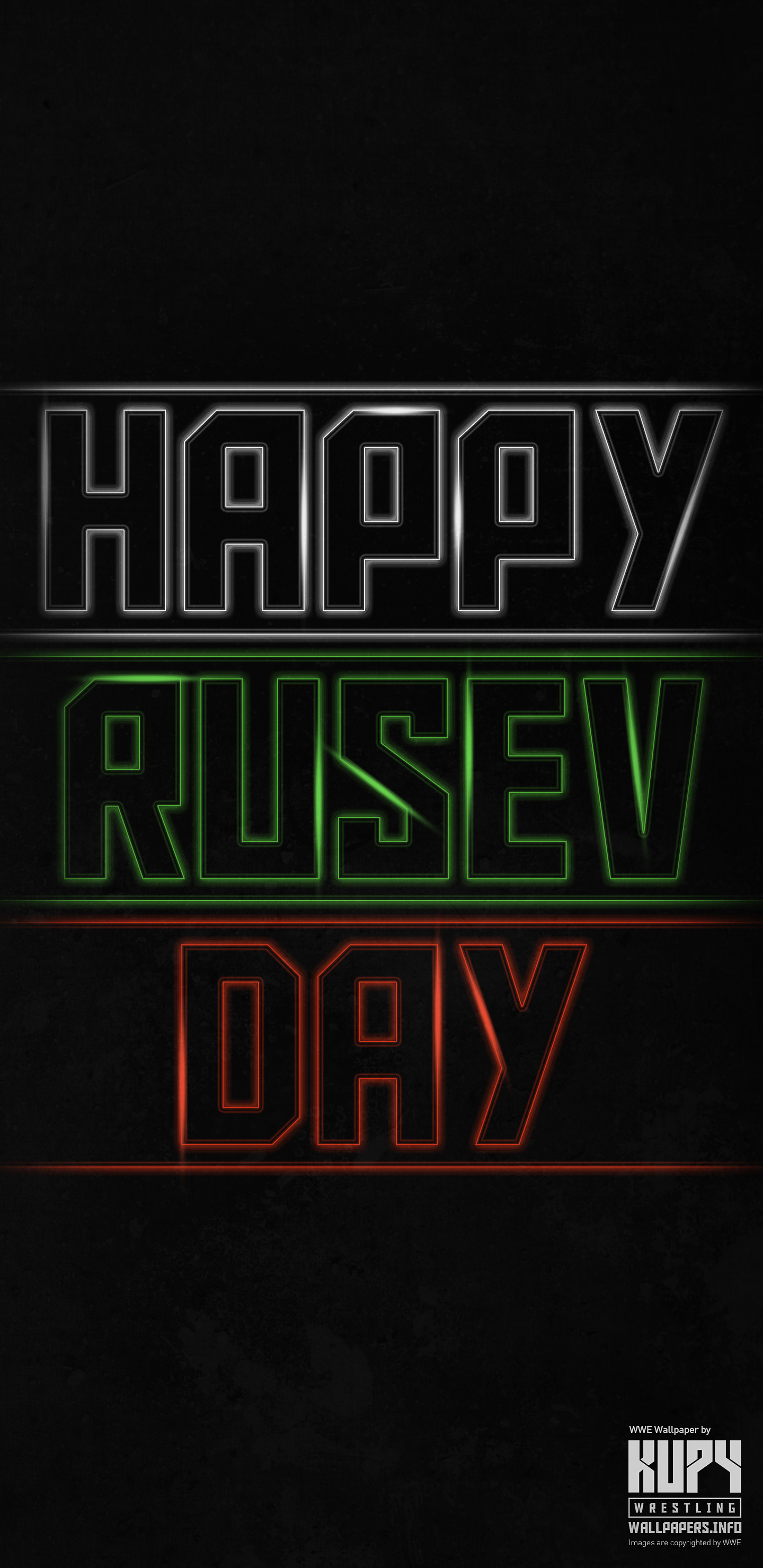 1440x2960 Mobile-only) NEW Happy Rusev Day iPhone / Android wallpaper! - Kupy ...