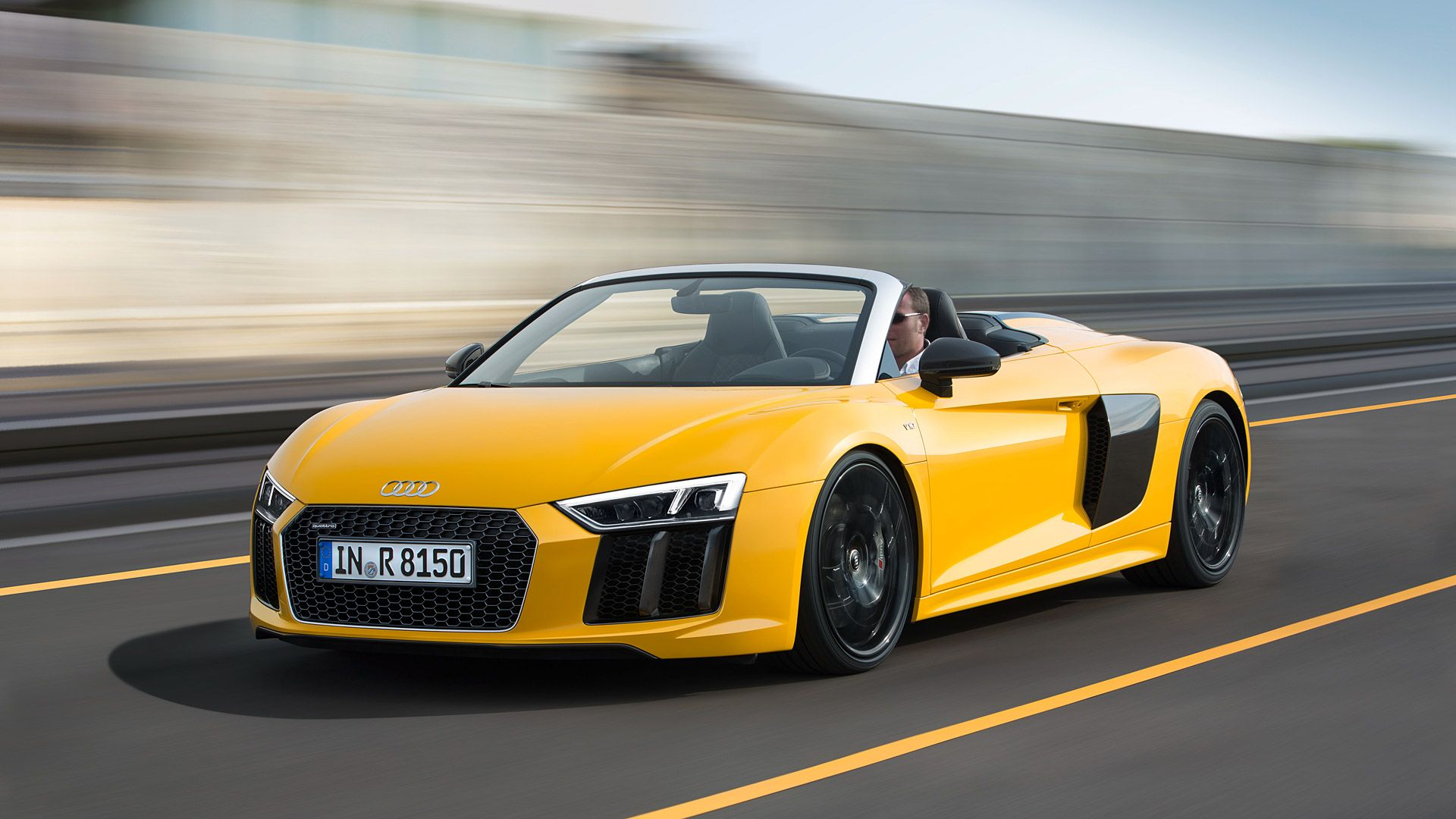 1920x1080 2017 Audi R8 Spyder V10 Wallpapers & HD Images - WSupercars