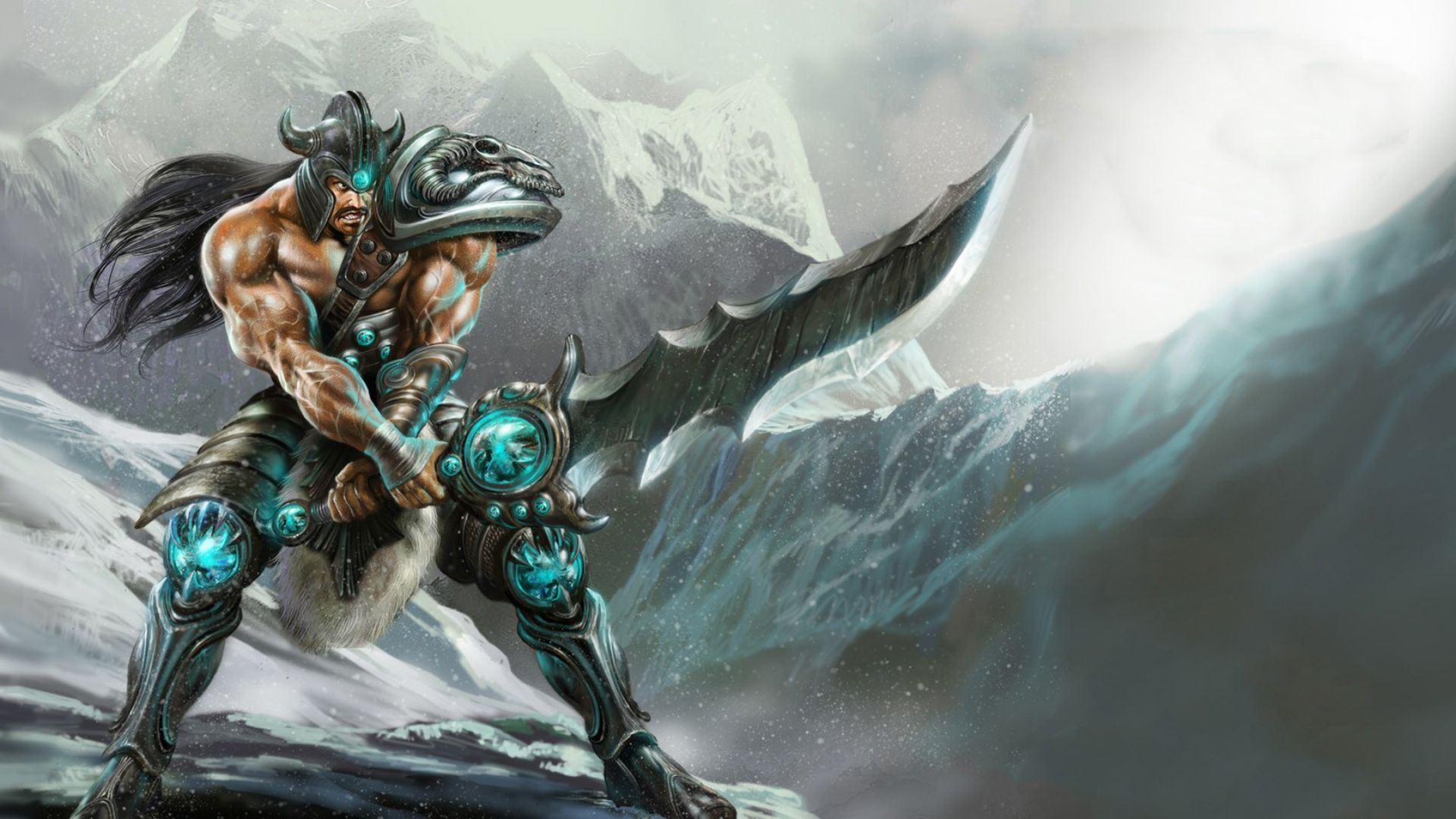 1920x1080 League Of Legends Tryndamere Game Wallpaper | Art | Pinterest ...