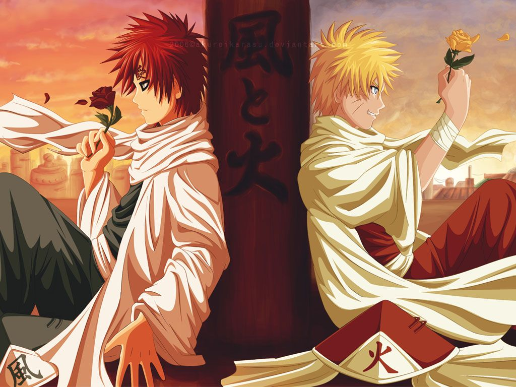 1024x768 The Best of Naruto Wallpapers: 2008-08-31 on We Heart It