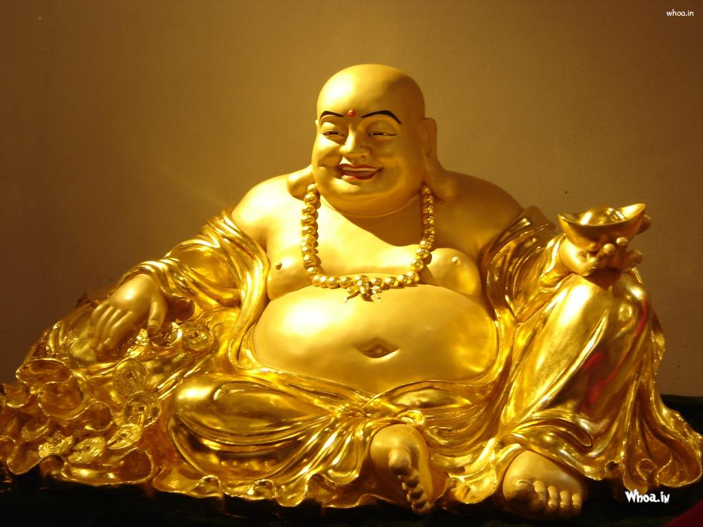 1024x768 Laughing Buddha Wallpapers For Mobile