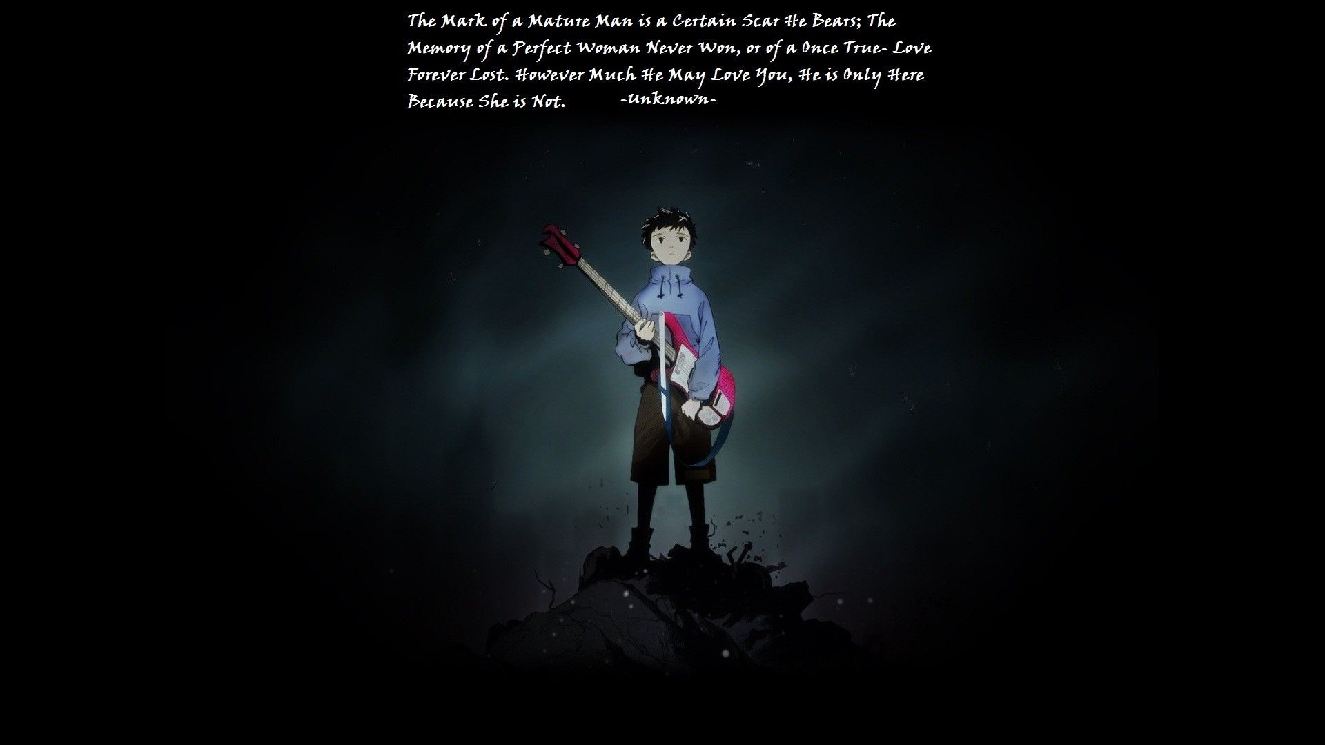 1920x1080 anime, #quote, #FLCL, wallpaper