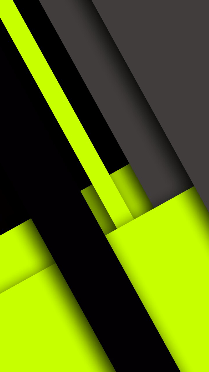 720x1280 Neon Green Black and Grey Abstract Wallpaper   *Abstract and ...