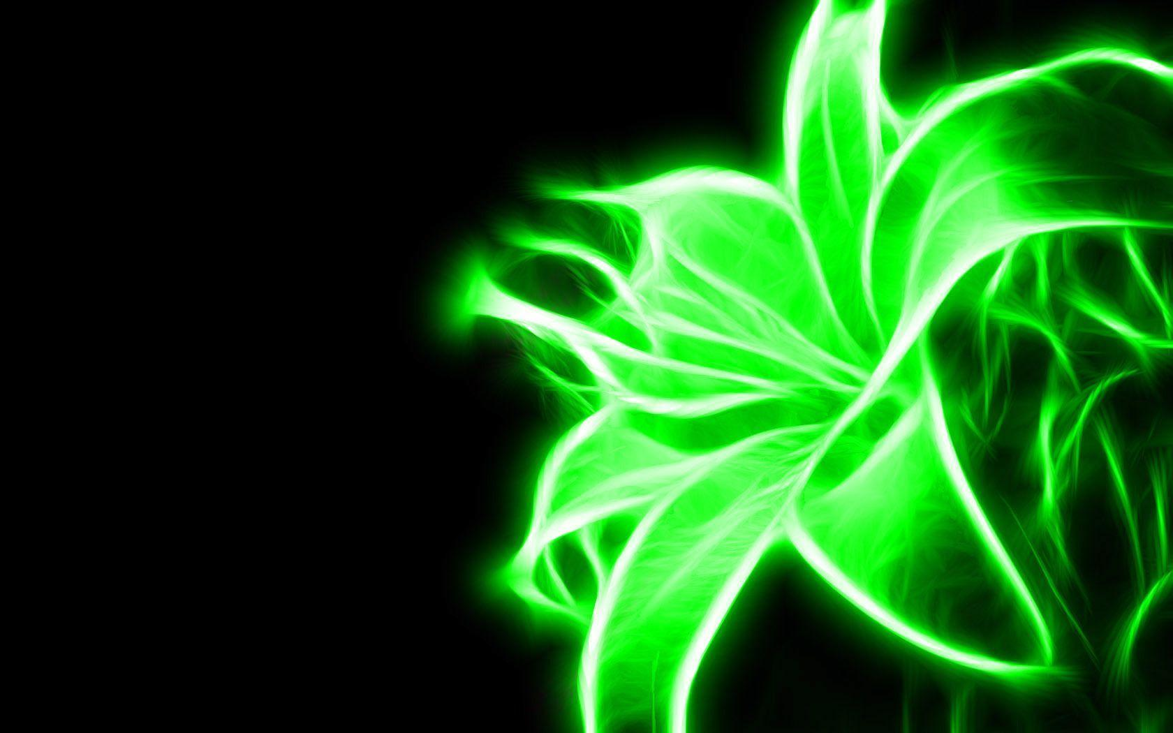 1680x1050 Green Neon Backgrounds