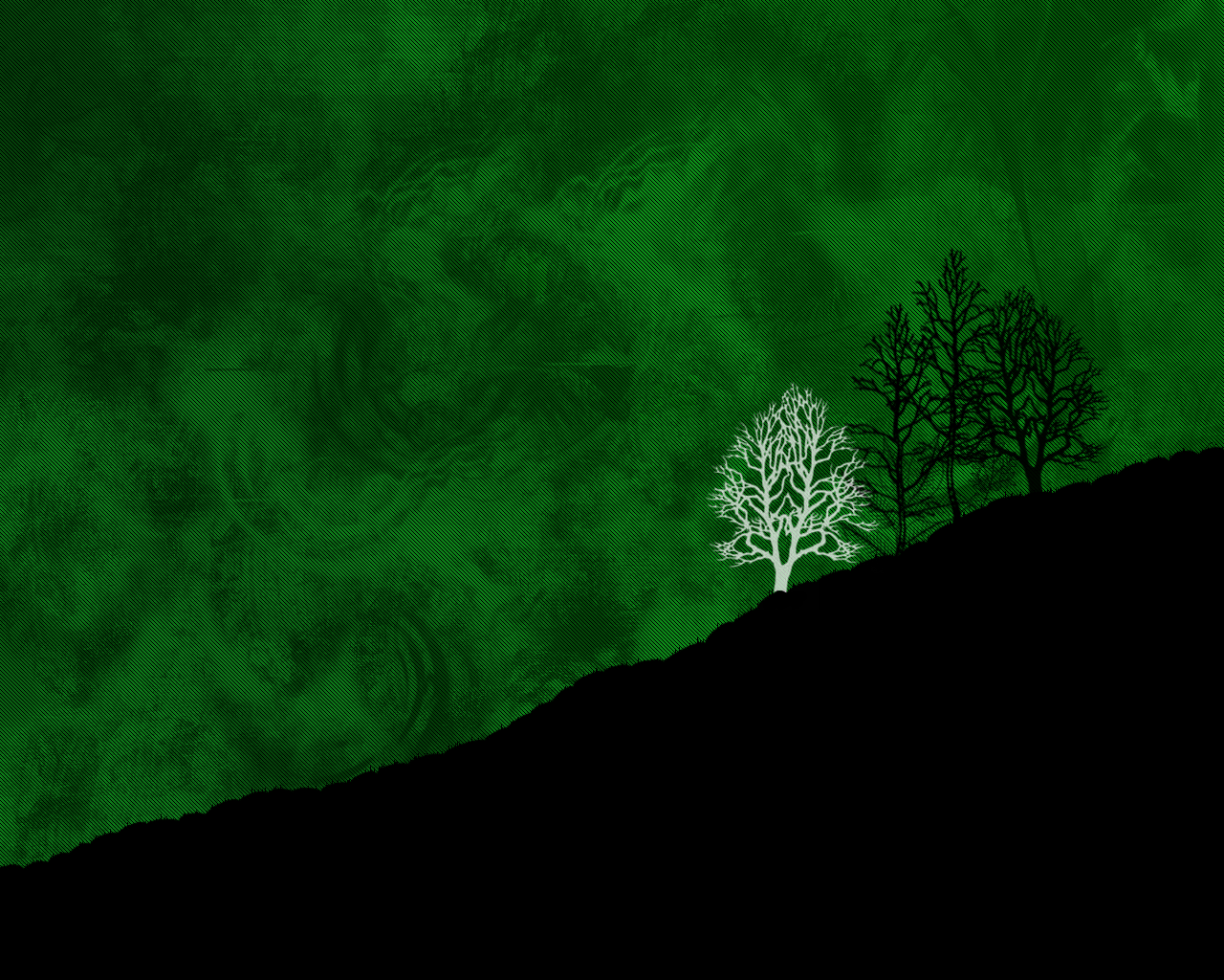 1280x1024 green and black wallpaper | Cool Wallpaper