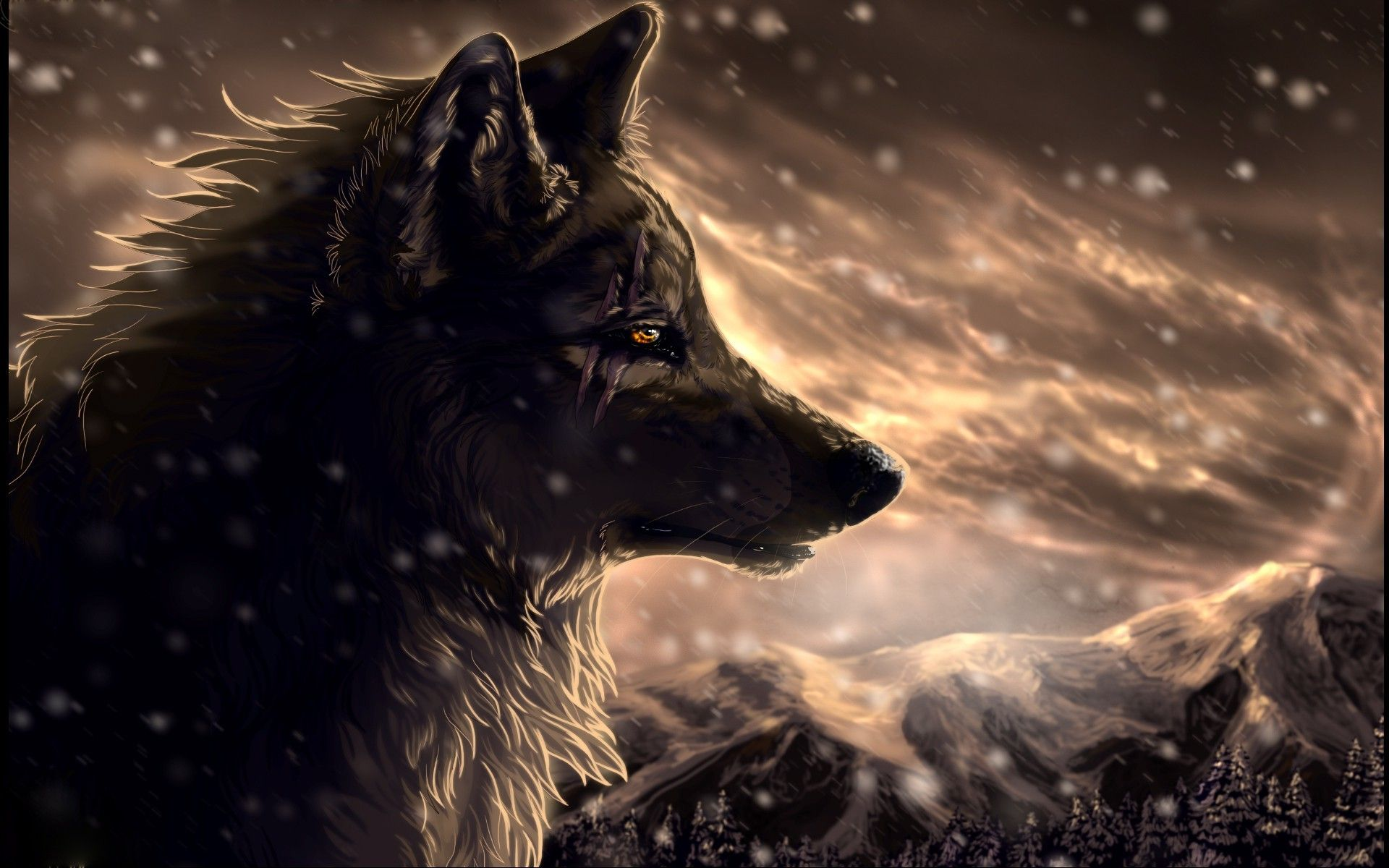 1920x1200 71+ Animated Wolf Wallpapers on WallpaperPlay