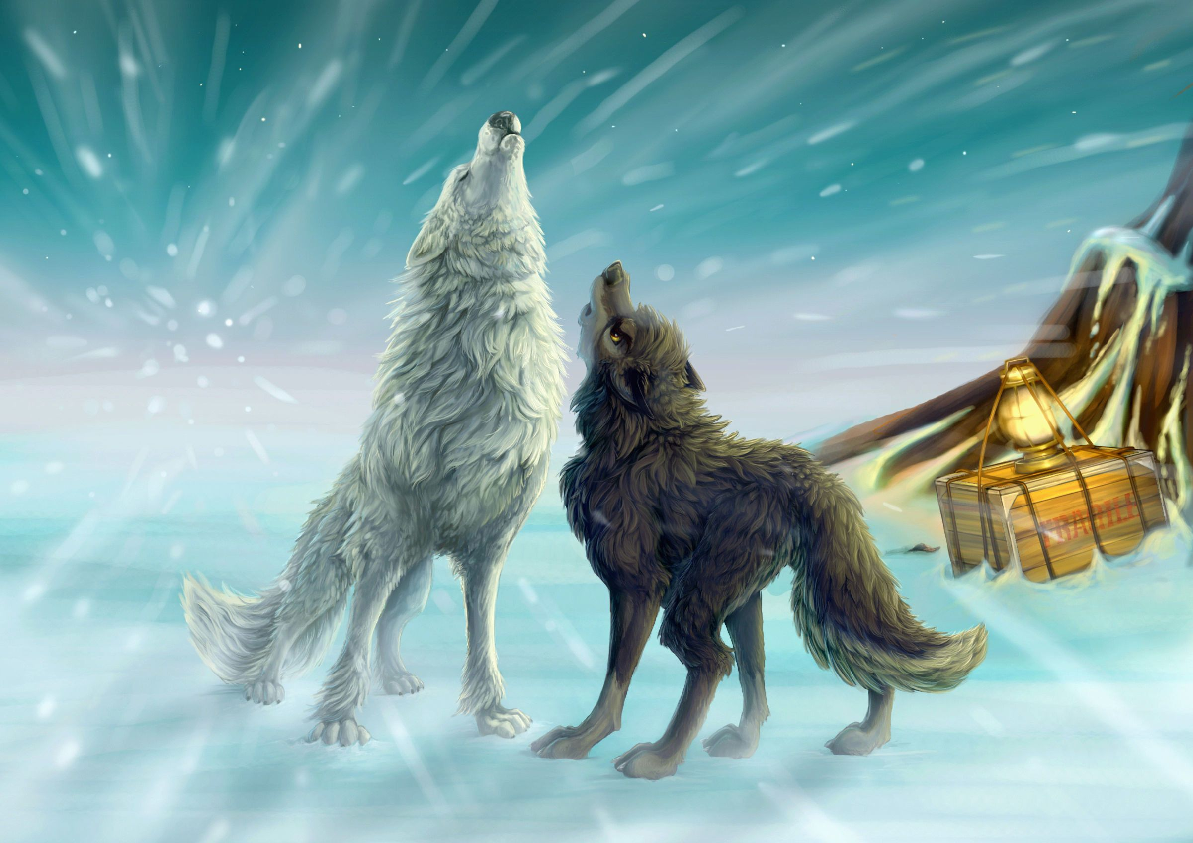 2400x1696 71+ Animated Wolf Wallpapers on WallpaperPlay