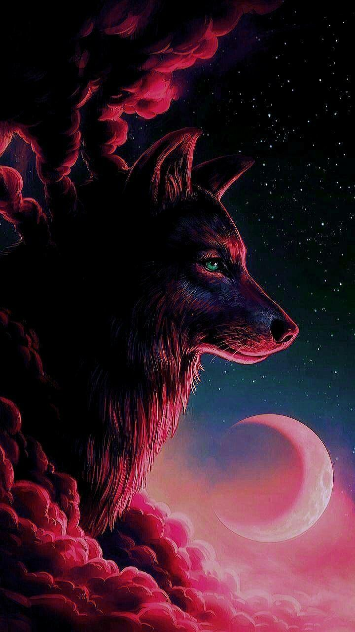 720x1280 Pin by Angel Day on Art | Wolf, Wolf wallpaper, Anime wolf