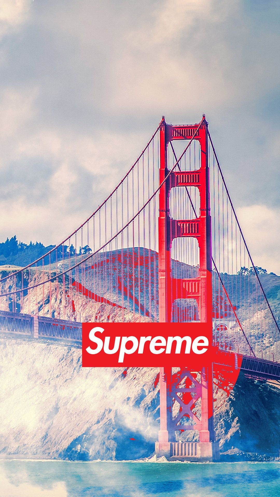 1080x1920 san francisco supreme - Tap to see more of the Supreme wallpapers ...