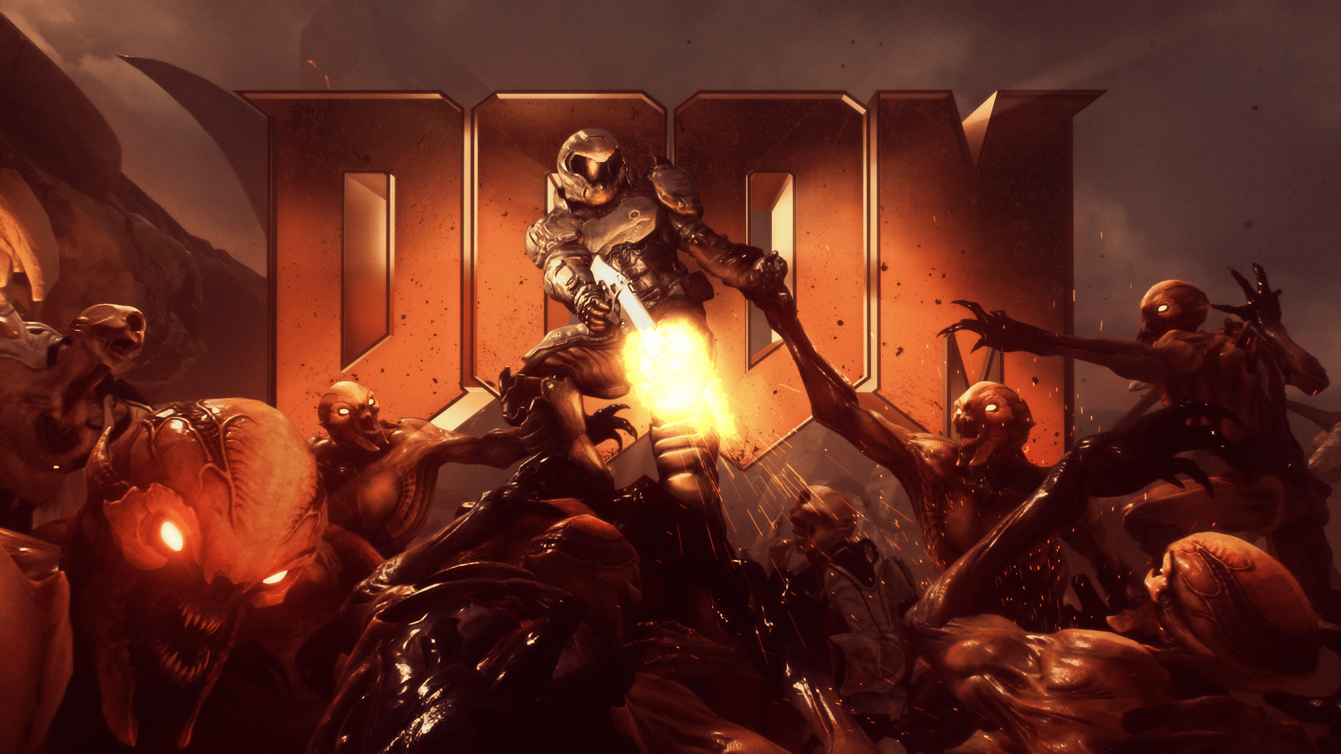 1920x1080 Classic Doom 2016 Wallpaper | DOOM | Doom 2016, Doom 4, Doom game